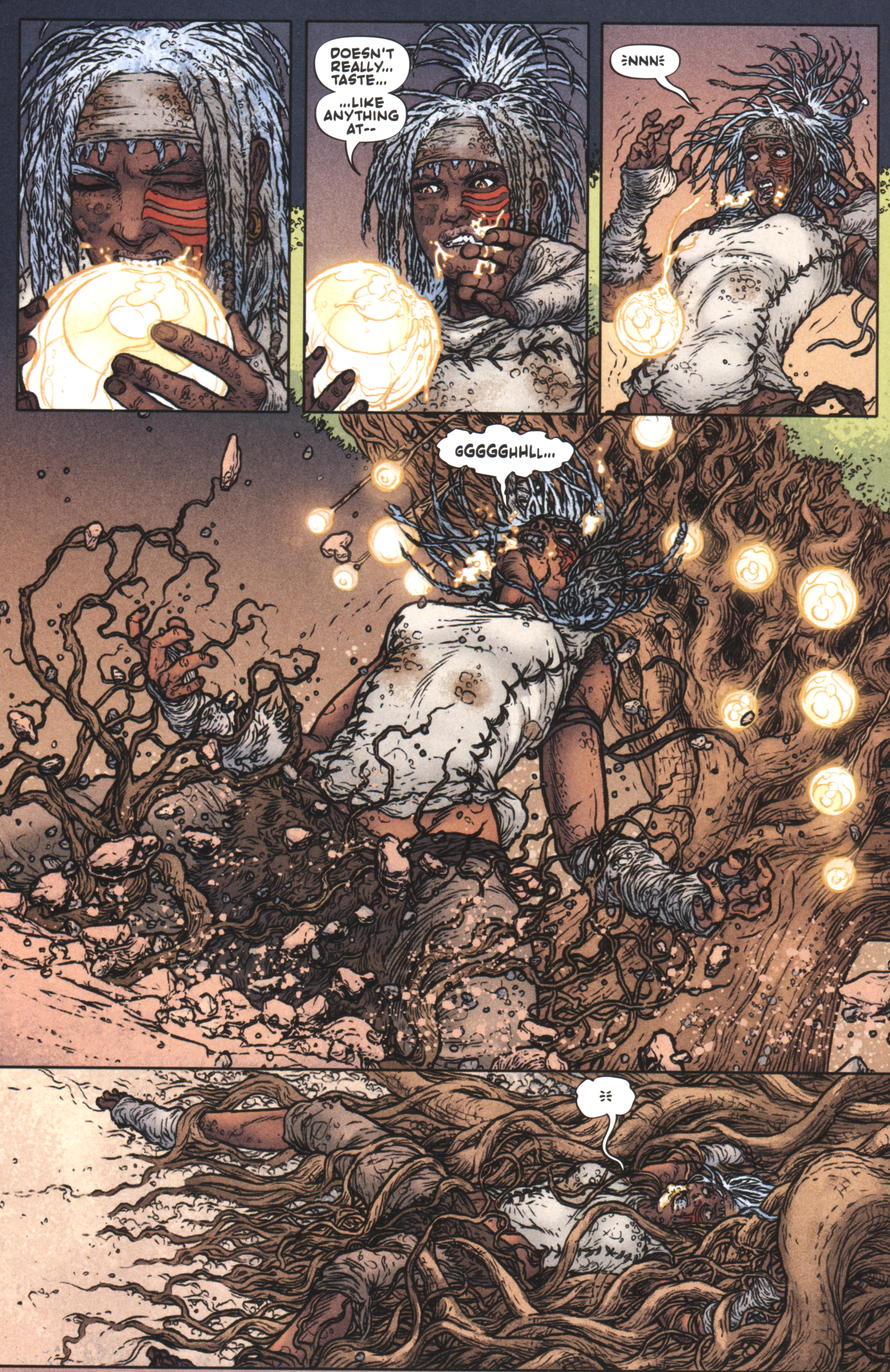 Read online Book of Death: Legends of the Geomancer comic -  Issue #2 - 16