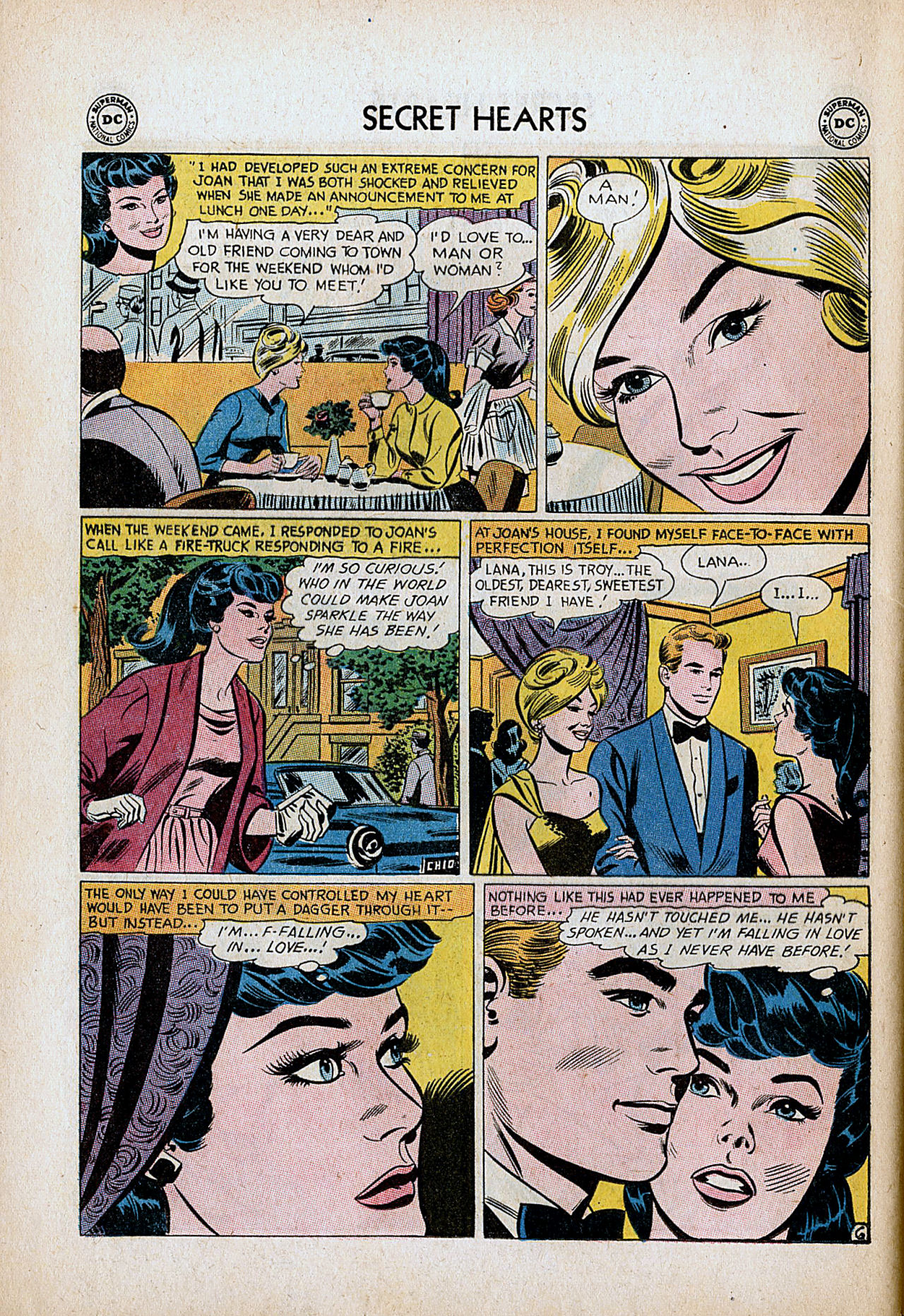 Read online Secret Hearts comic -  Issue #86 - 32