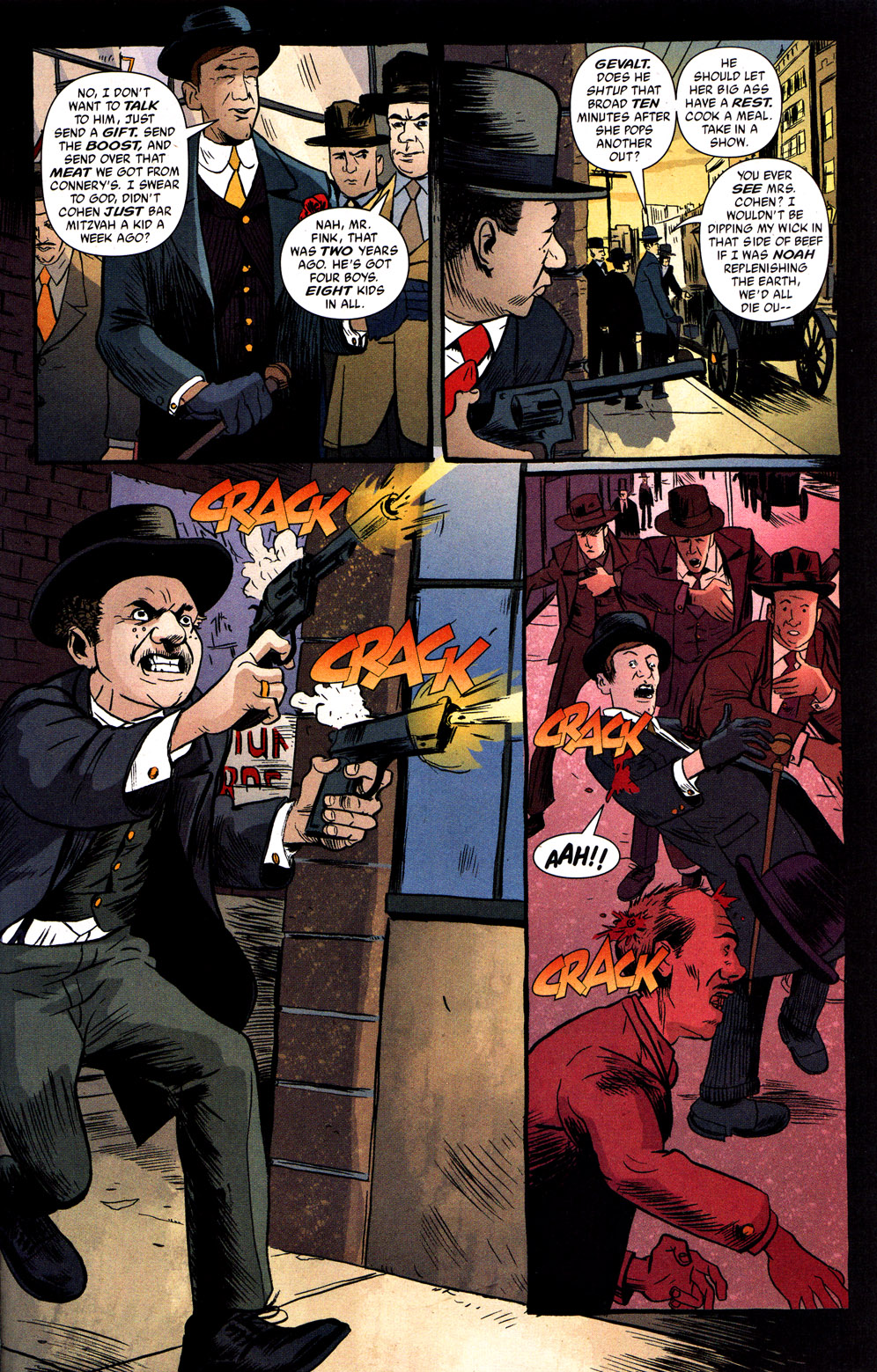 Read online Caper comic -  Issue #1 - 21