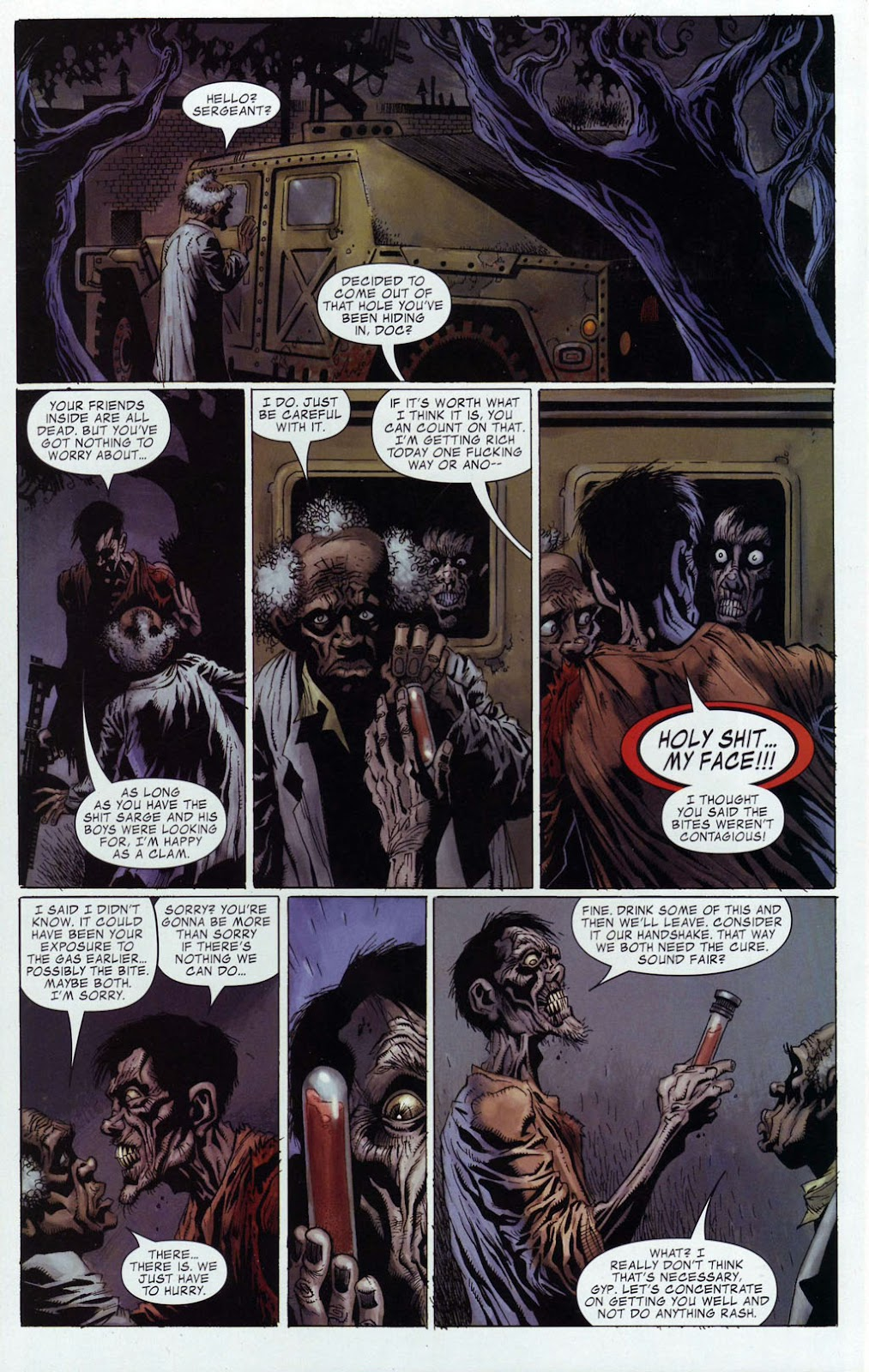 Read online Zombie (2006) comic -  Issue #4 - 18