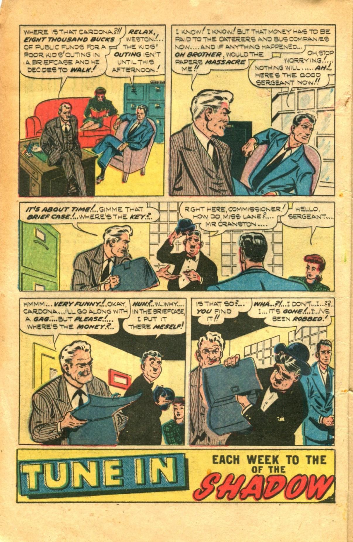Read online Shadow Comics comic -  Issue #91 - 4