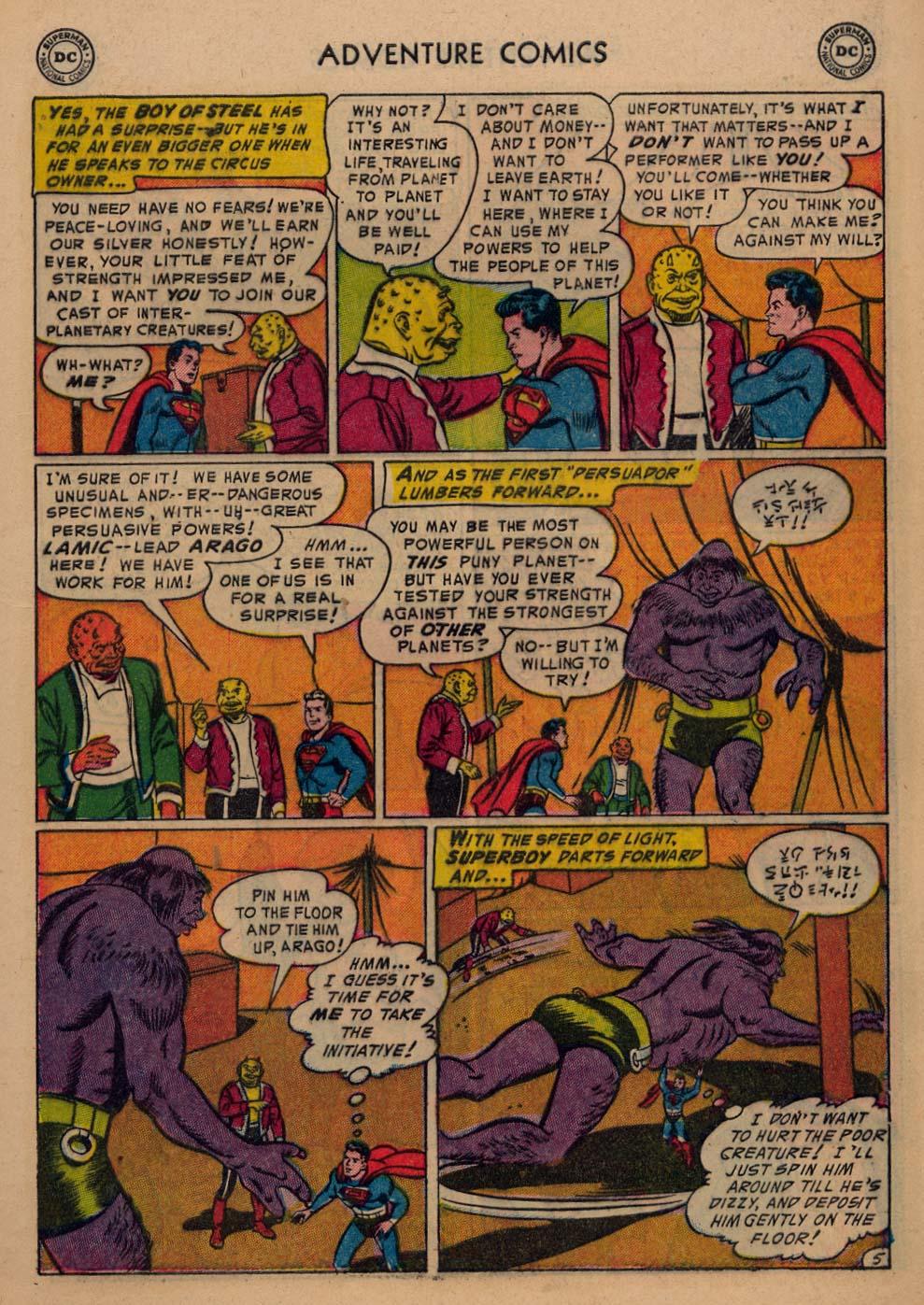 Read online Adventure Comics (1938) comic -  Issue #198 - 7