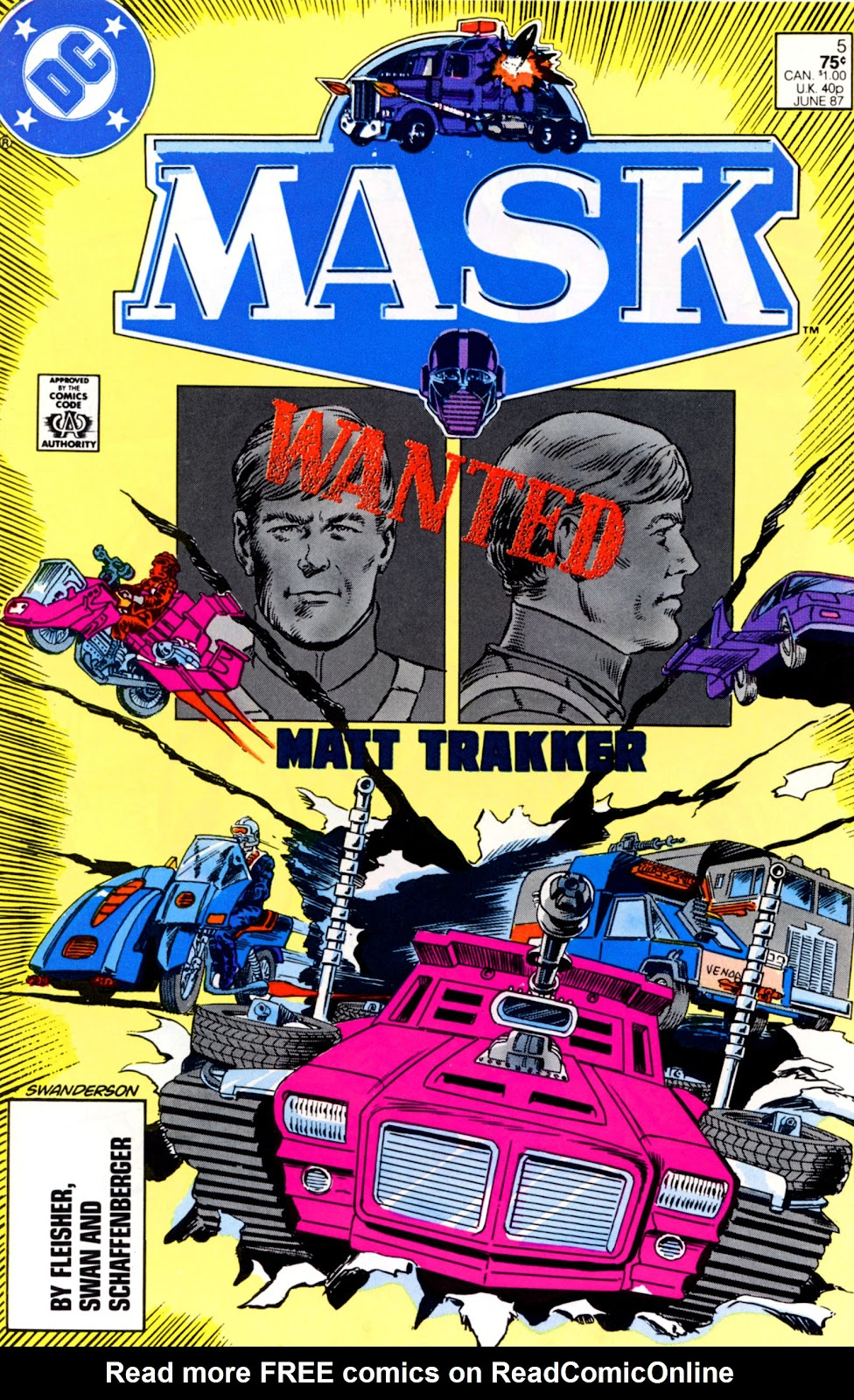 MASK (1987) issue 5 - Page 1