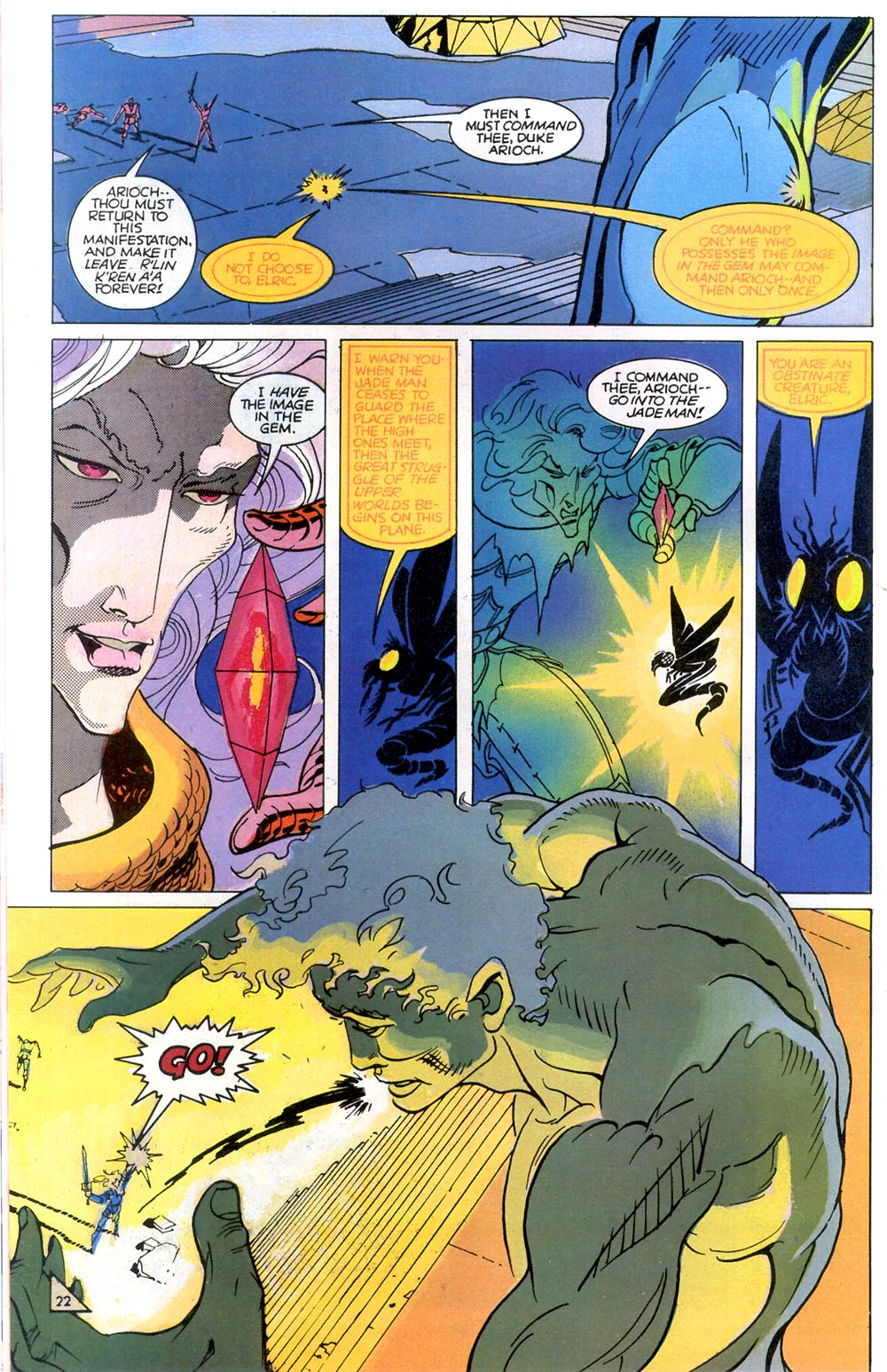 Read online Elric: Sailor on the Seas of Fate comic -  Issue #7 - 23