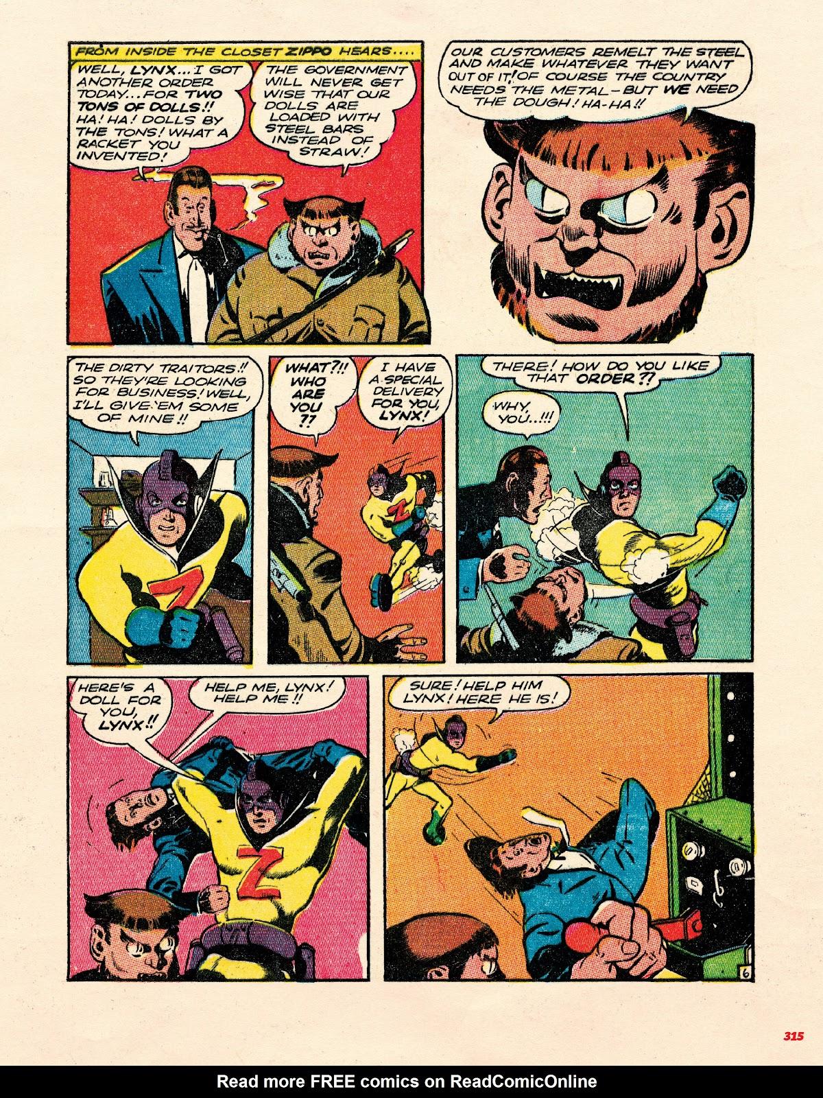 Read online Super Weird Heroes comic -  Issue # TPB 1 (Part 3) - 115