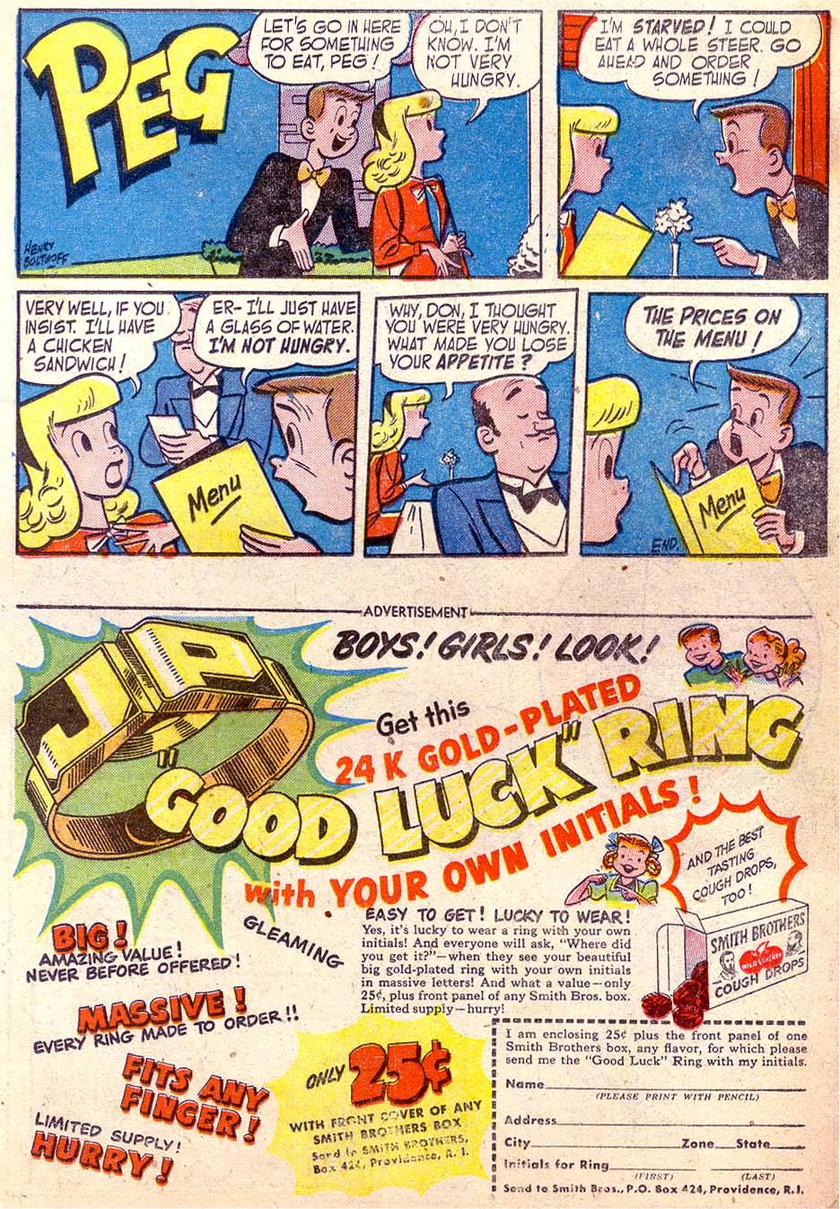 Read online Adventure Comics (1938) comic -  Issue #174 - 23