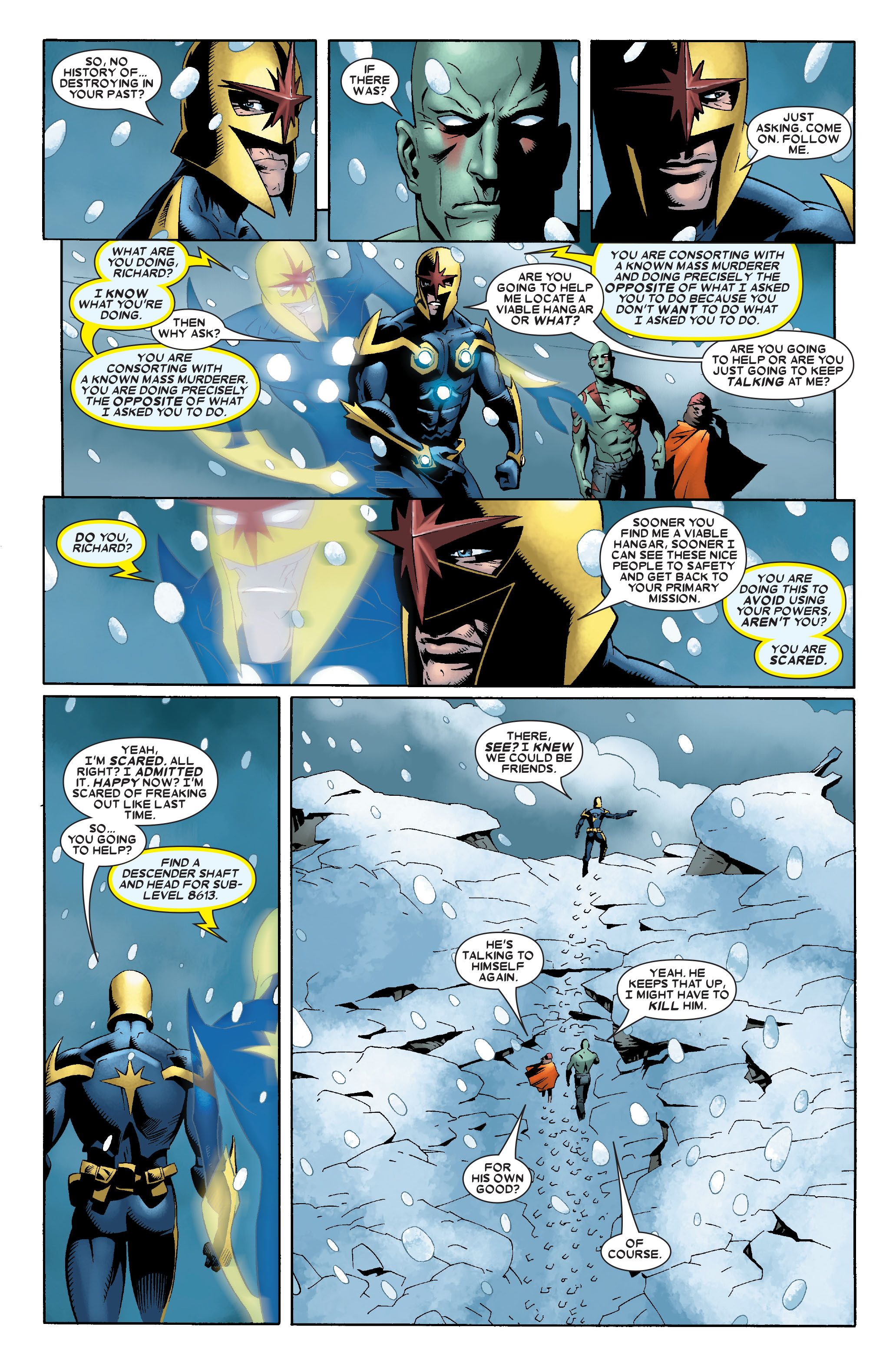 Read online Annihilation: Nova comic -  Issue #2 - 8