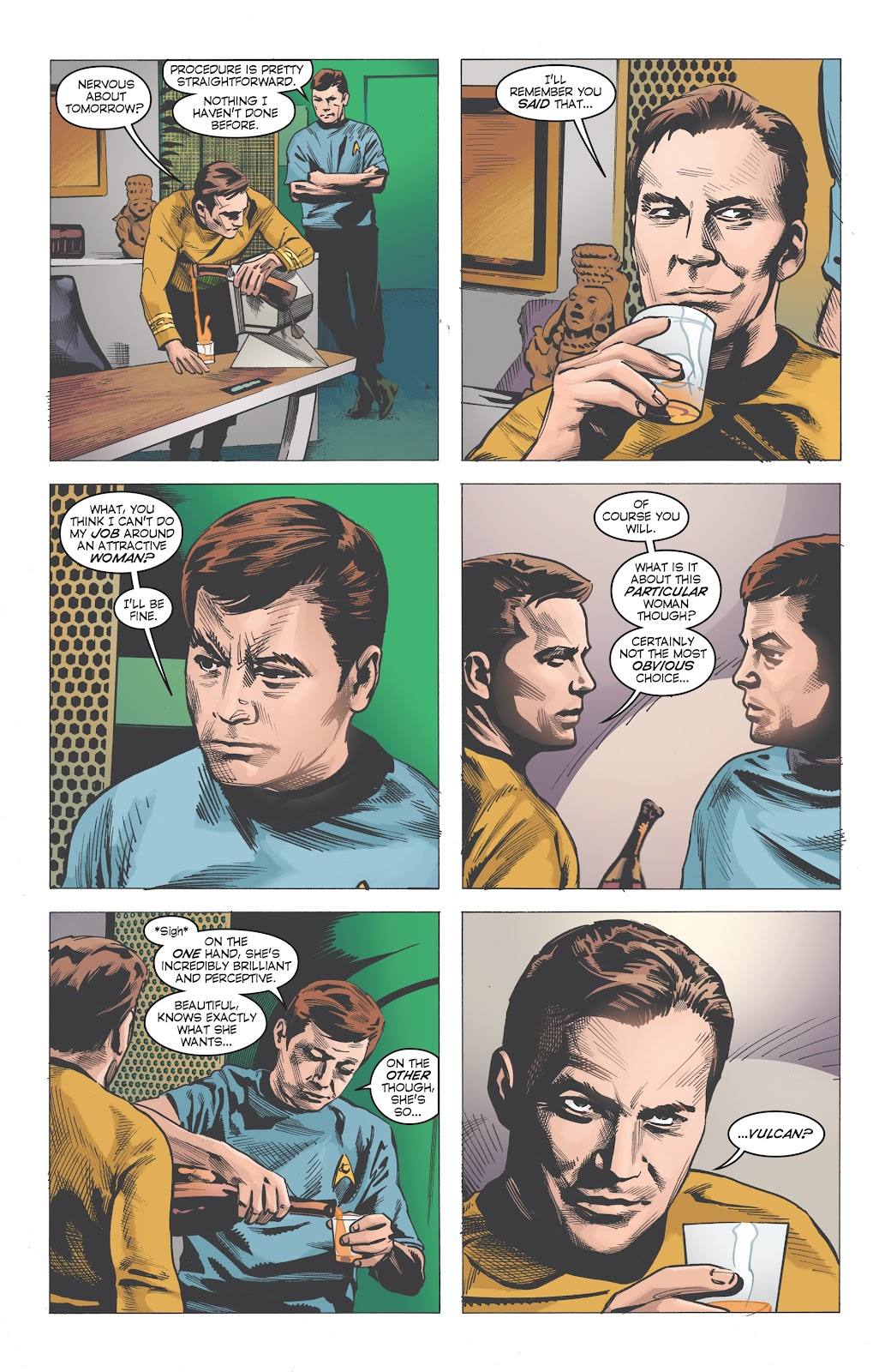 Read online Star Trek: Waypoint Special 2019 comic -  Issue # Full - 7