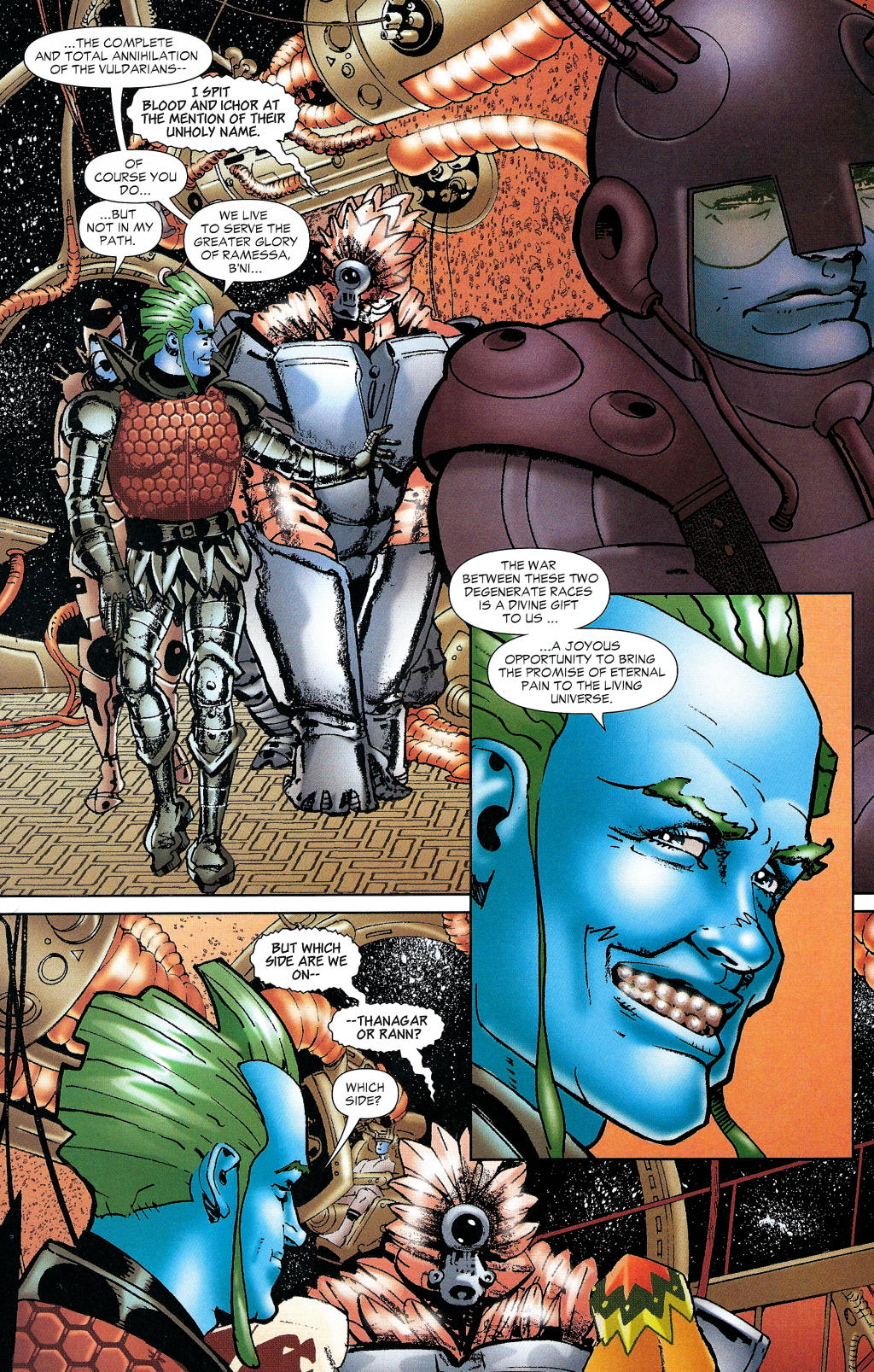 Read online Guy Gardner: Collateral Damage comic -  Issue #1 - 23