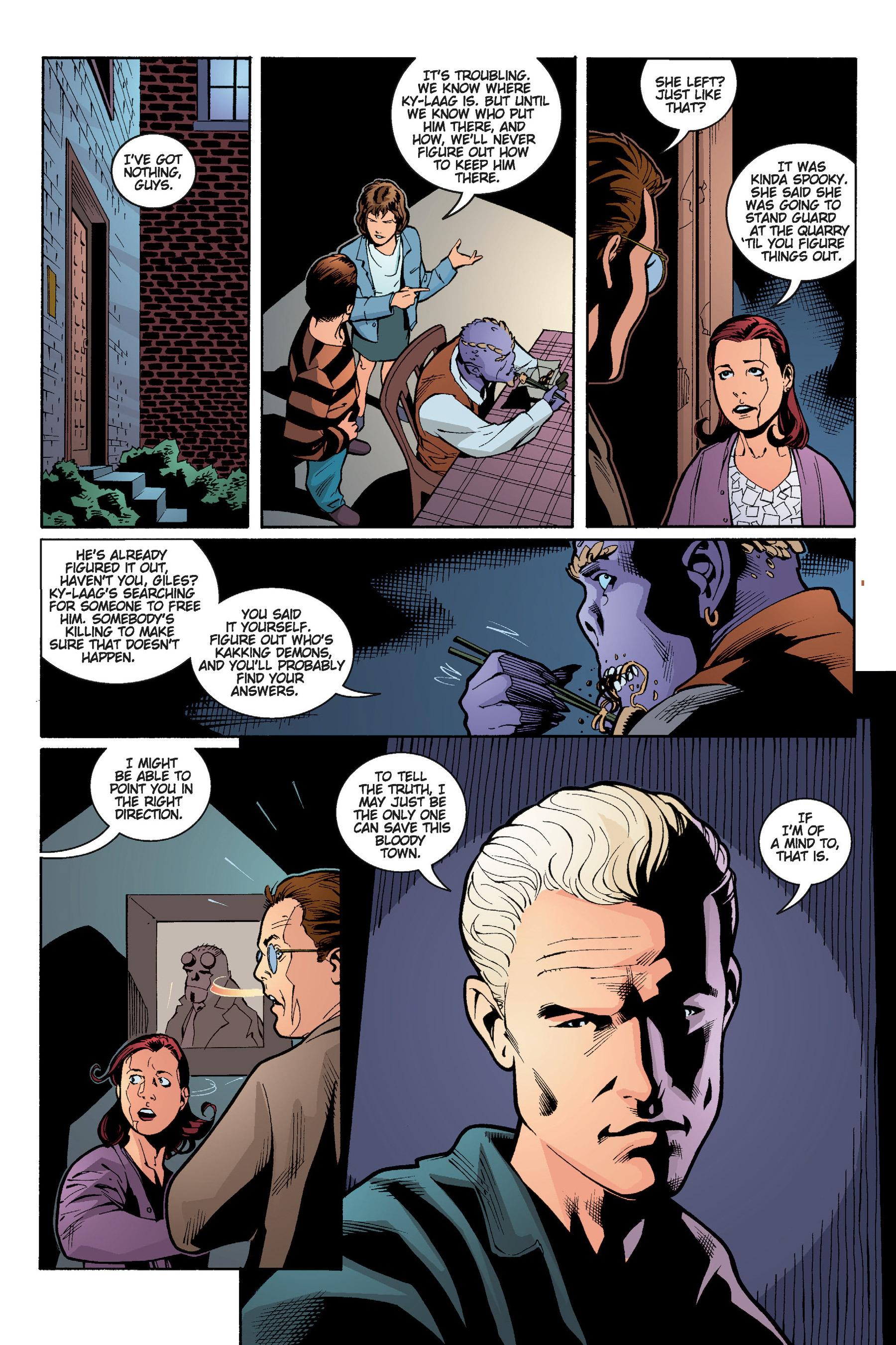 Read online Buffy the Vampire Slayer: Omnibus comic -  Issue # TPB 5 - 170