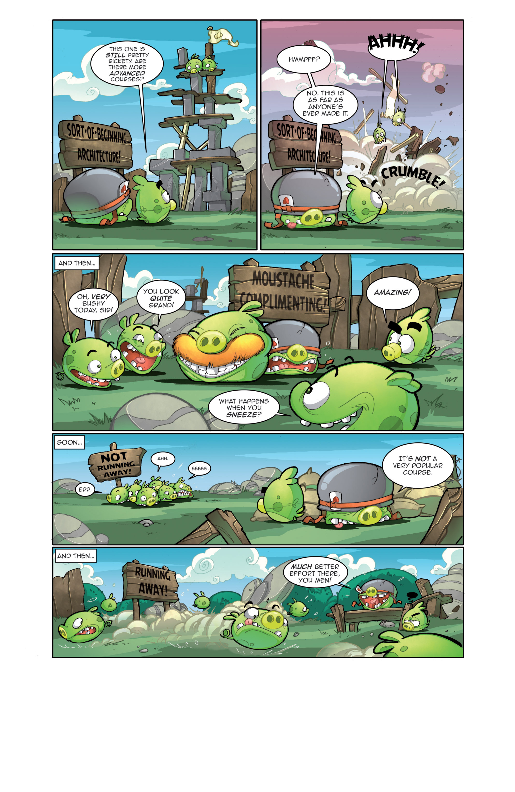 Read online Angry Birds Comics (2014) comic -  Issue #4 - 9