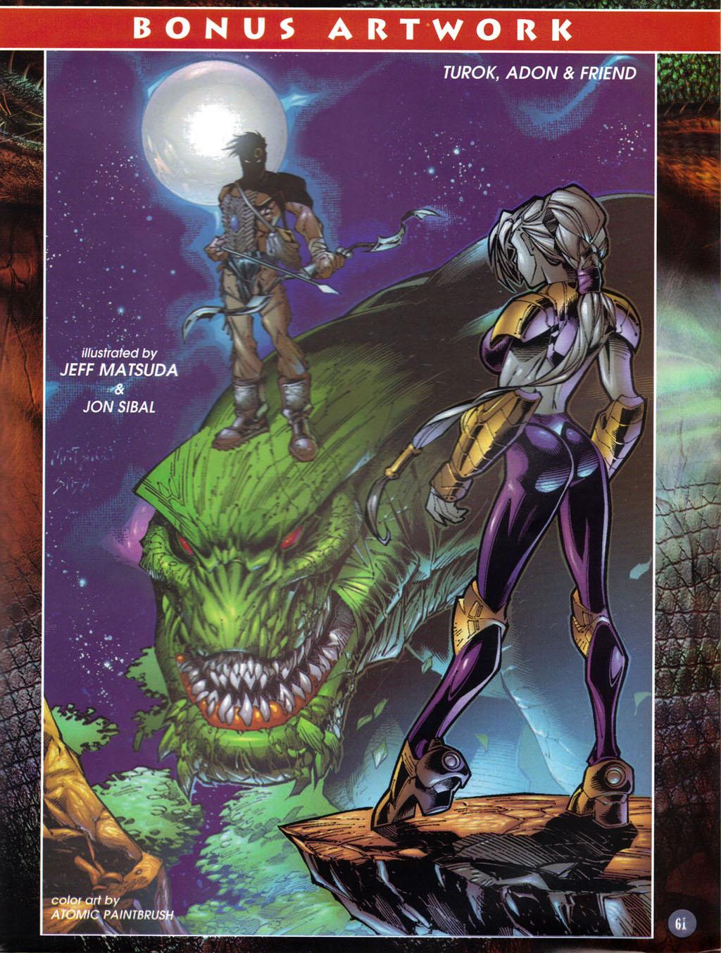 Read online Turok 2: Adon's Curse comic -  Issue # Full - 43