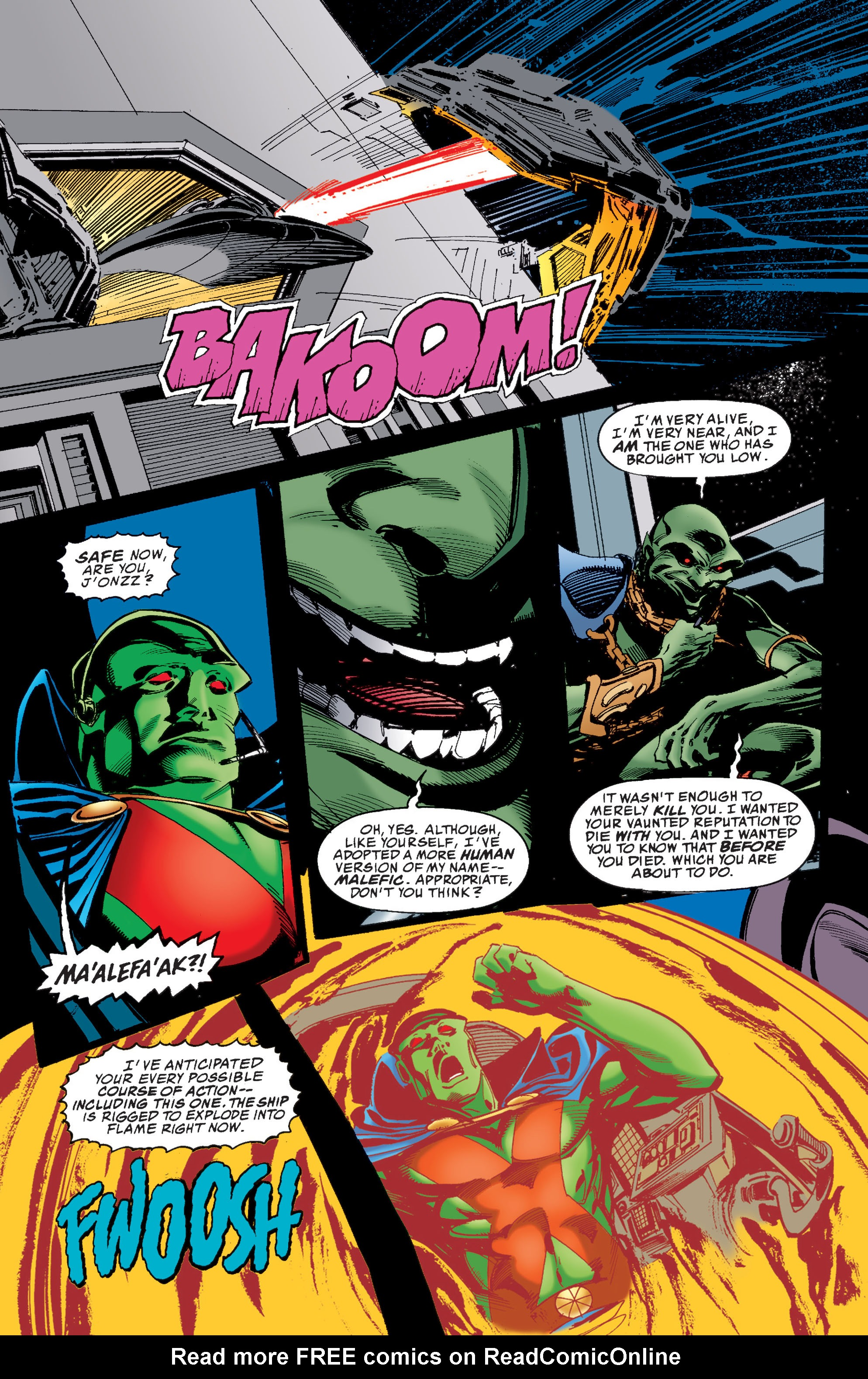 Read online Martian Manhunter: Son of Mars comic -  Issue # TPB - 187