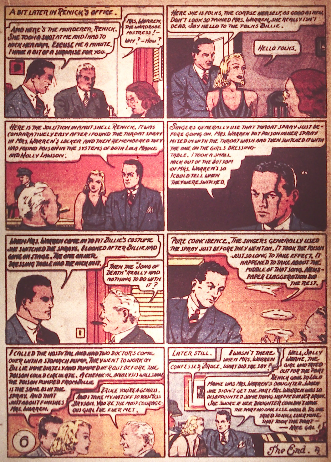 Read online Detective Comics (1937) comic -  Issue #22 - 33