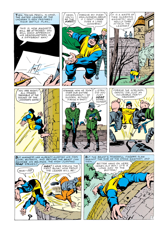 Read online Uncanny X-Men (1963) comic -  Issue #4 - 14