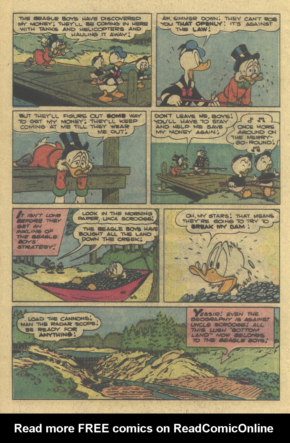 Read online Uncle Scrooge (1953) comic -  Issue #195 - 20