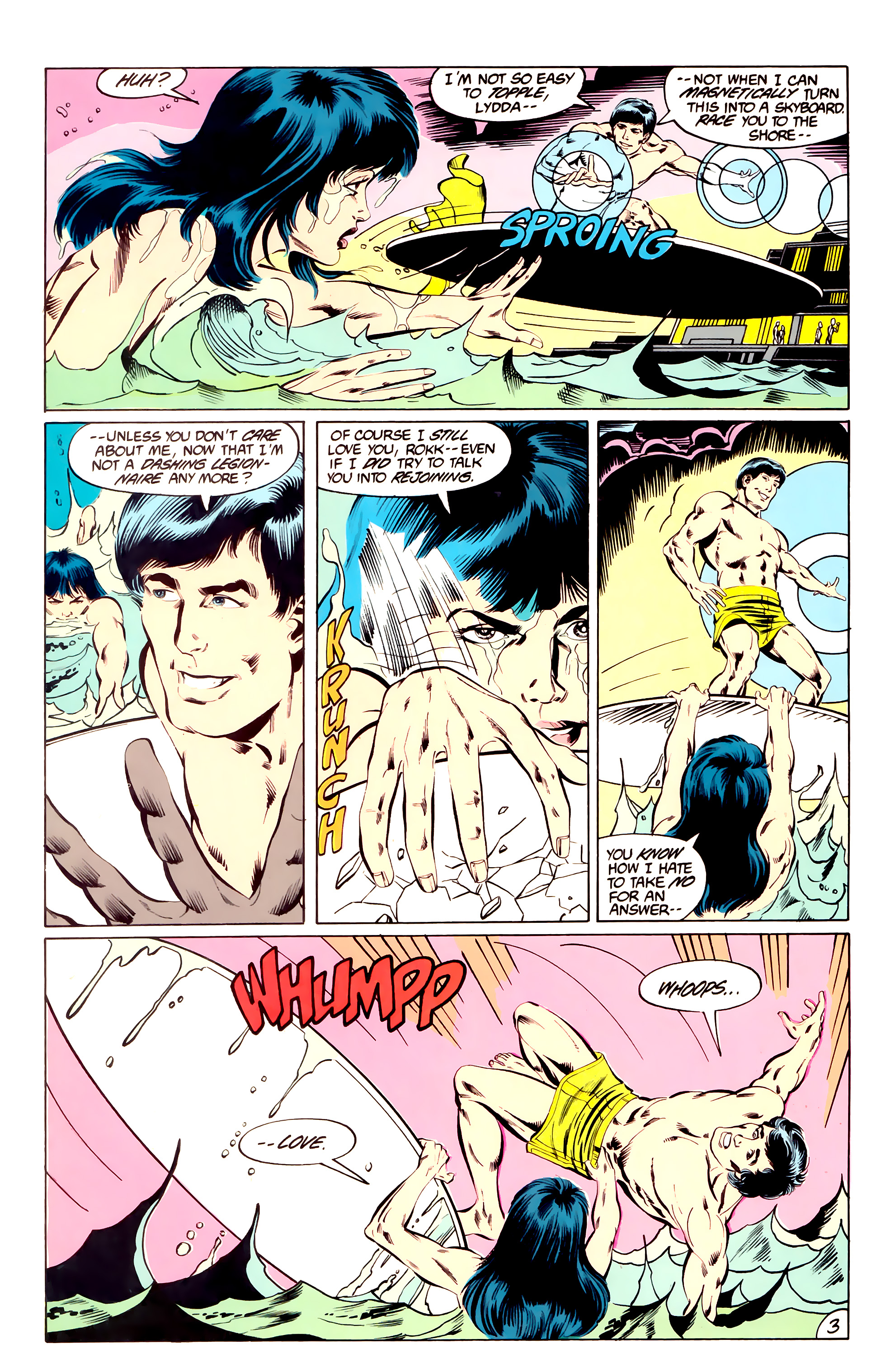 Legion of Super-Heroes (1984) _Annual_3 Page 3