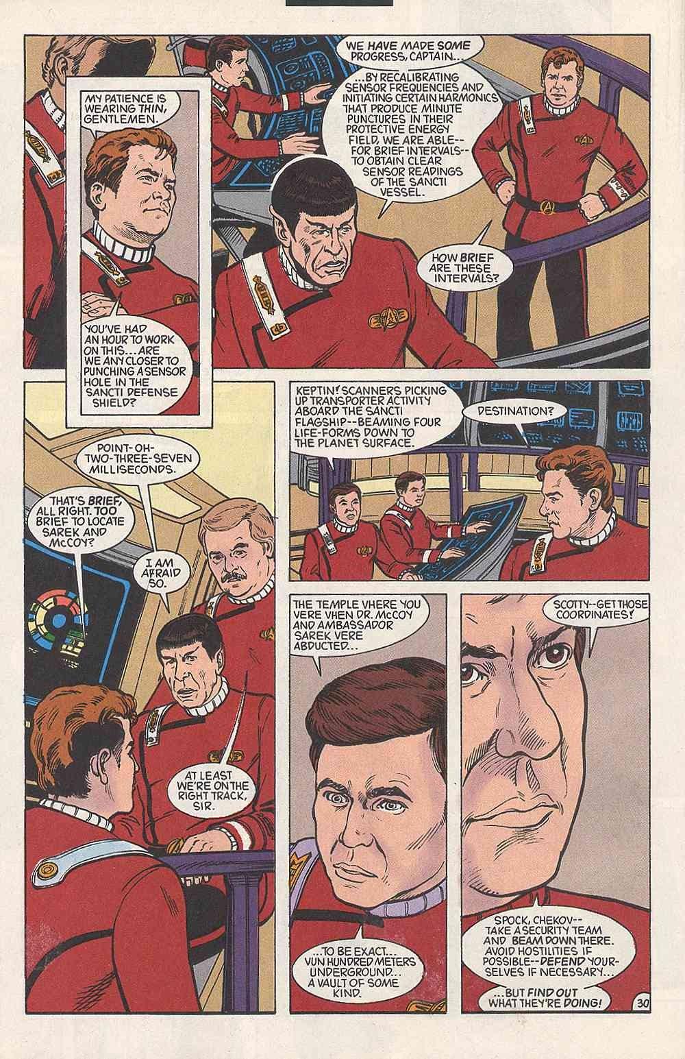 Read online Star Trek (1989) comic -  Issue # Annual 3 - 34