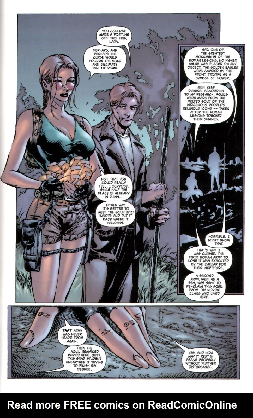 Read online Tomb Raider: The Series comic -  Issue #0 - 21