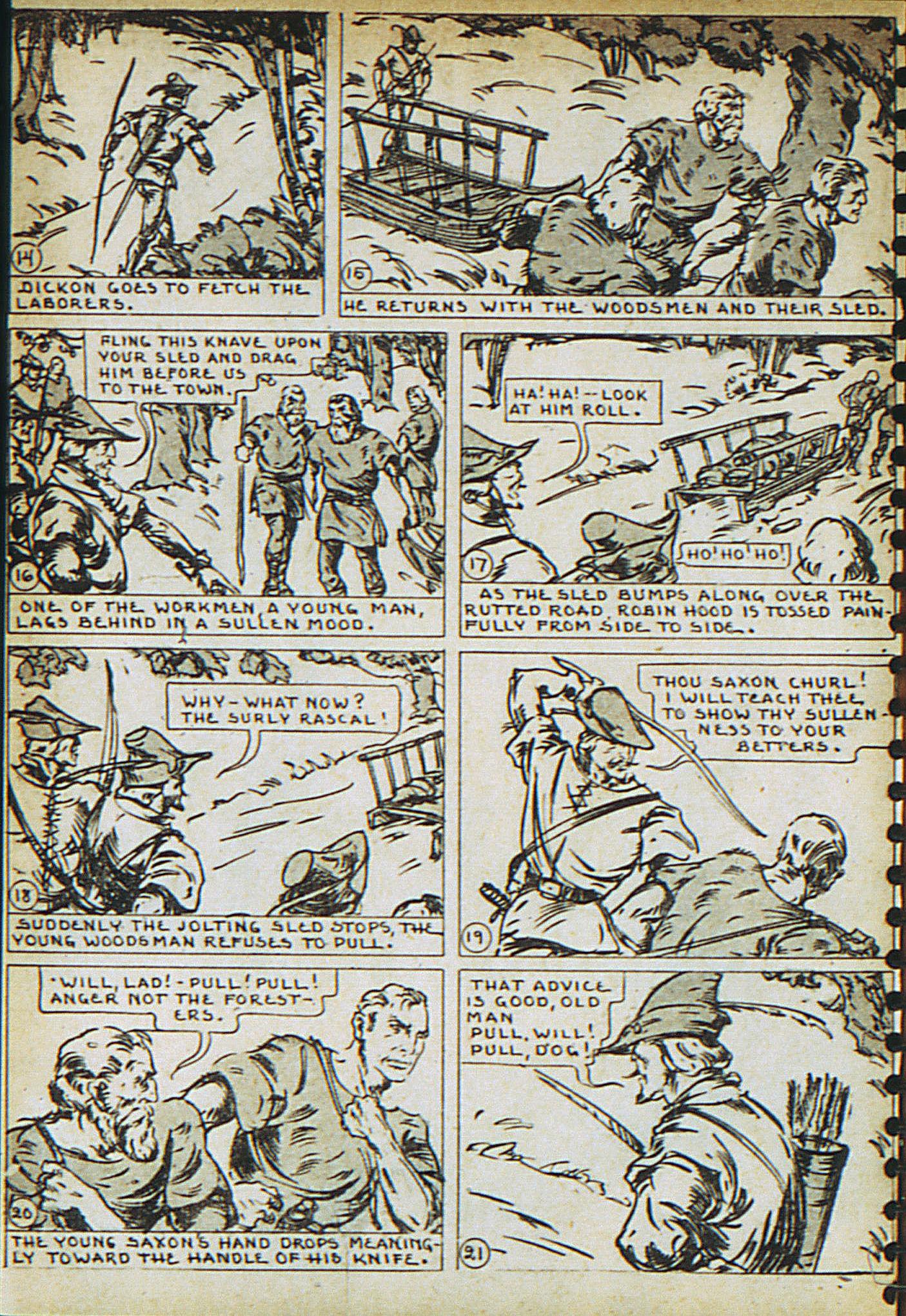 Read online Adventure Comics (1938) comic -  Issue #23 - 26