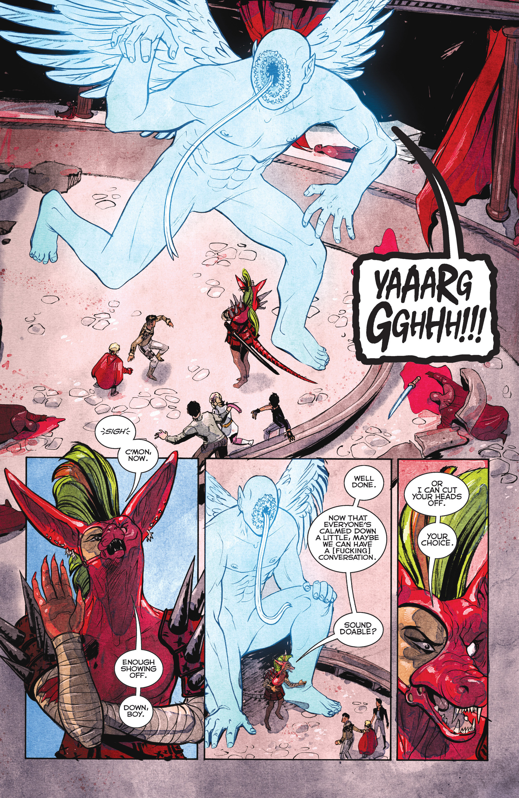 Read online Shutter comic -  Issue #27 - 9