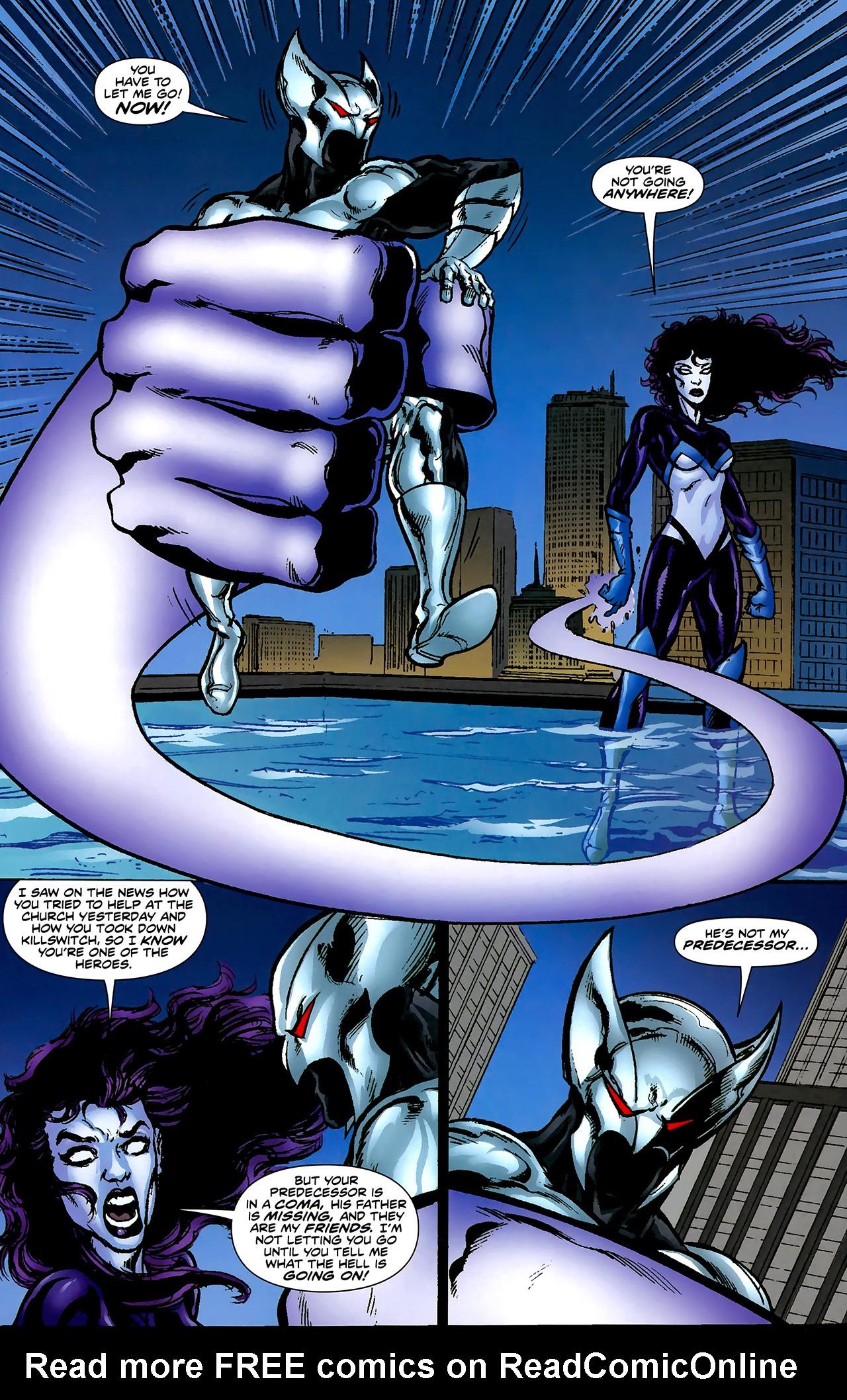 Read online ShadowHawk (2010) comic -  Issue #2 - 14