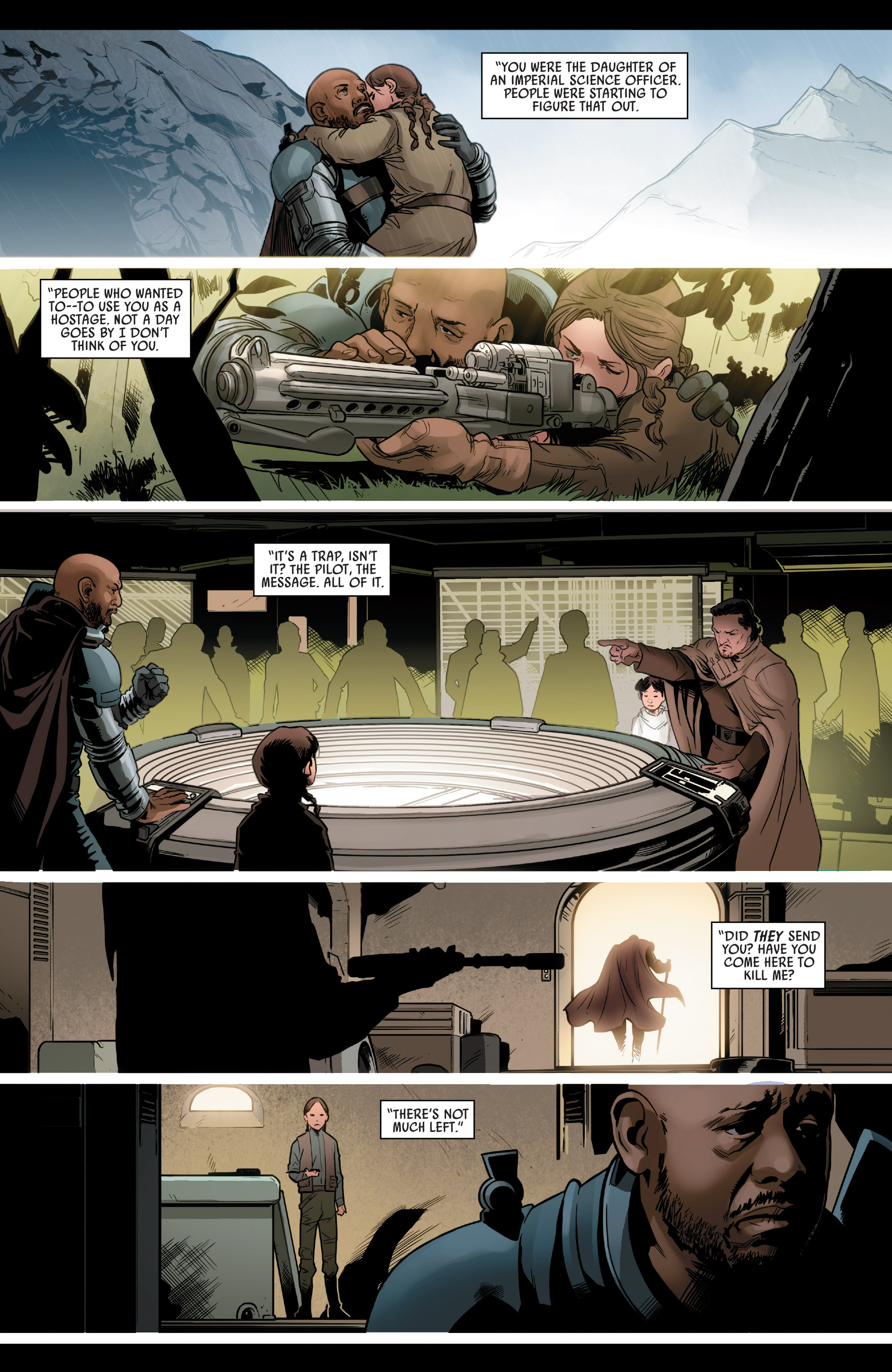 Read online Star Wars: Rogue One Adaptation comic -  Issue #2 - 17