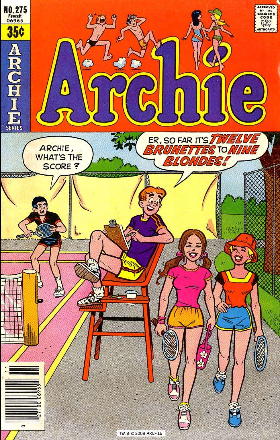 Read online Archie (1960) comic -  Issue #275 - 1
