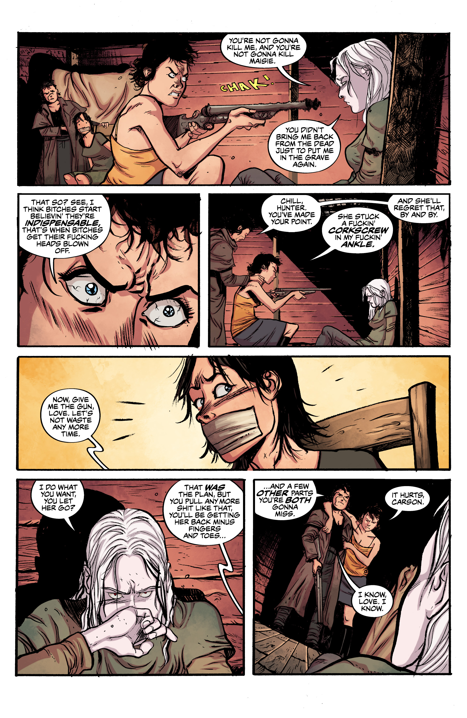 Read online Alabaster: The Good, the Bad and the Bird comic -  Issue #4 - 22