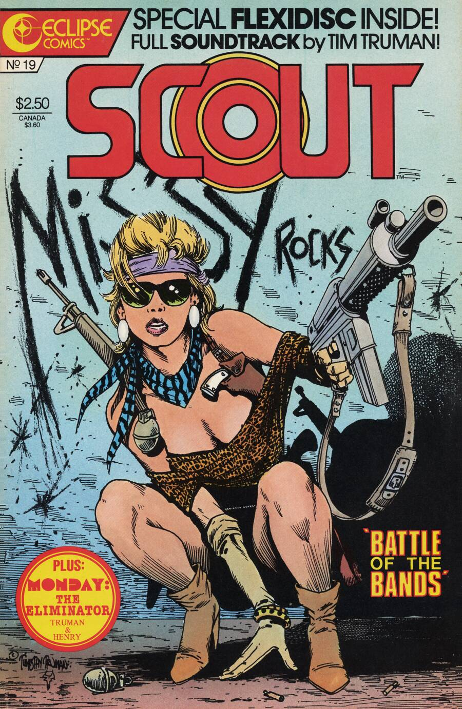 Read online Scout comic -  Issue #19 - 1
