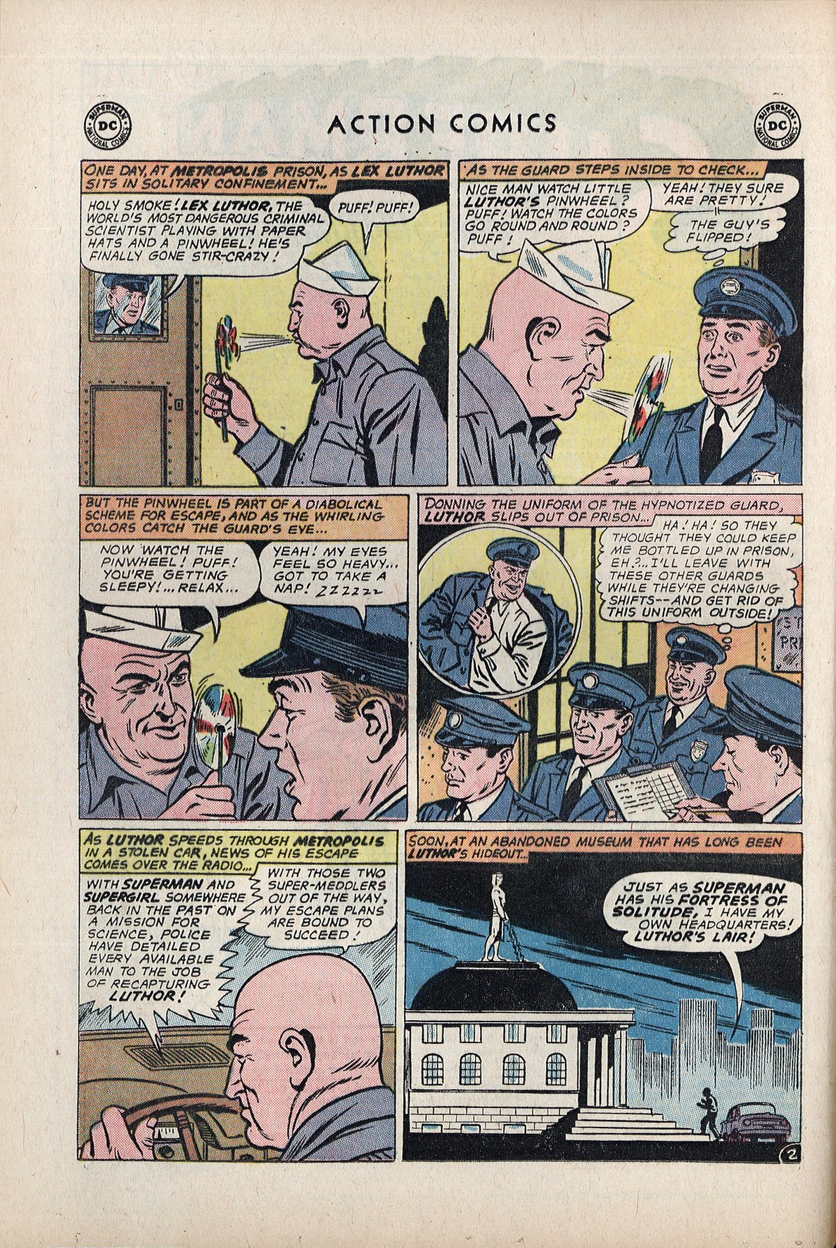 Read online Action Comics (1938) comic -  Issue #292 - 4