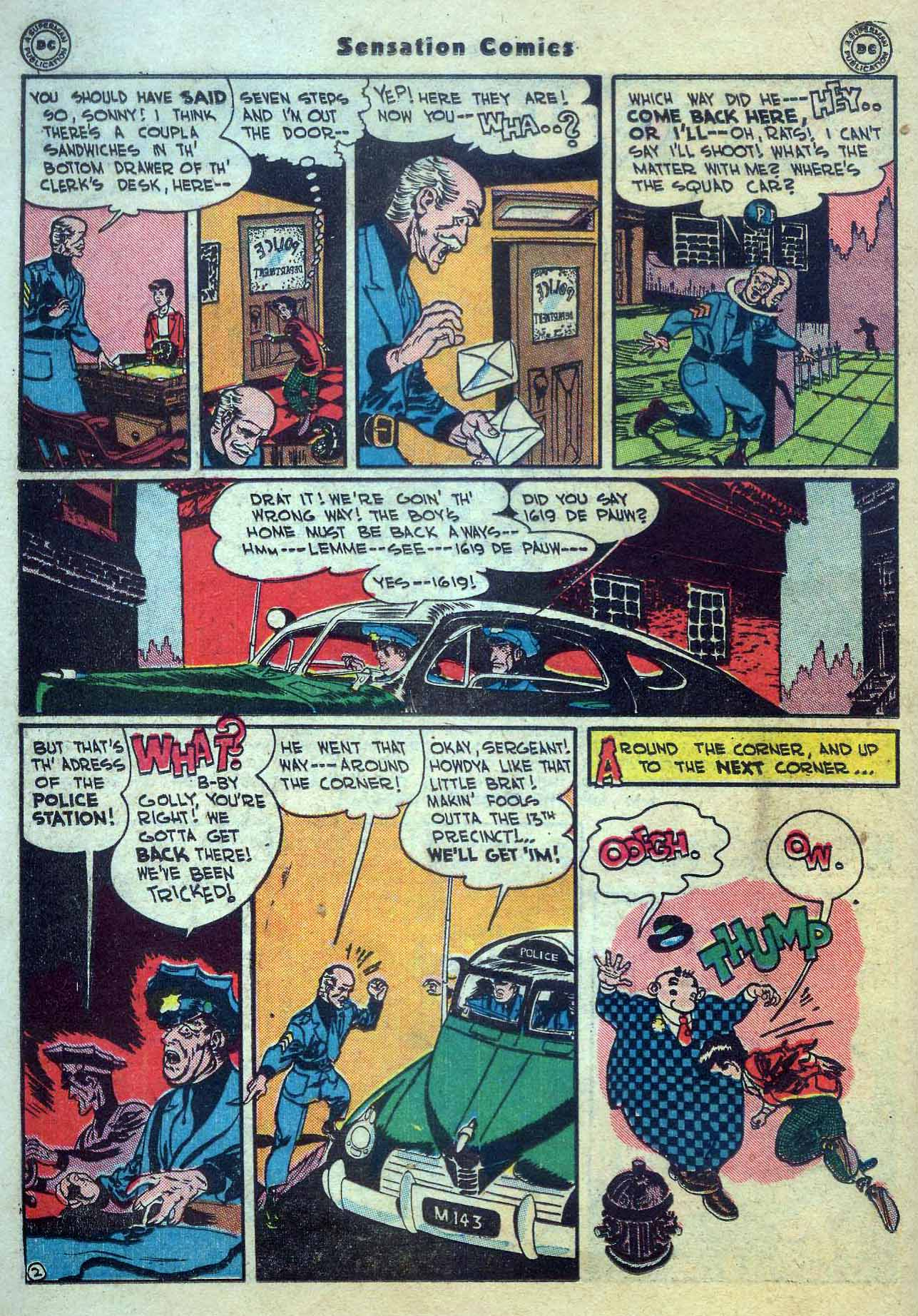 Read online Sensation (Mystery) Comics comic -  Issue #56 - 26