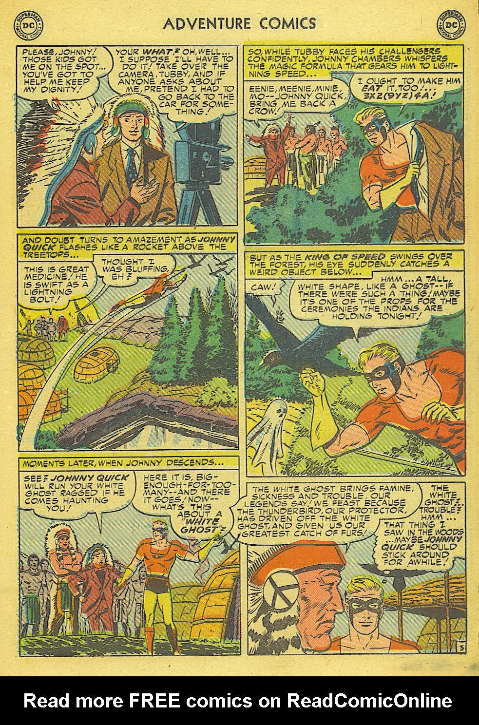 Read online Adventure Comics (1938) comic -  Issue #165 - 22