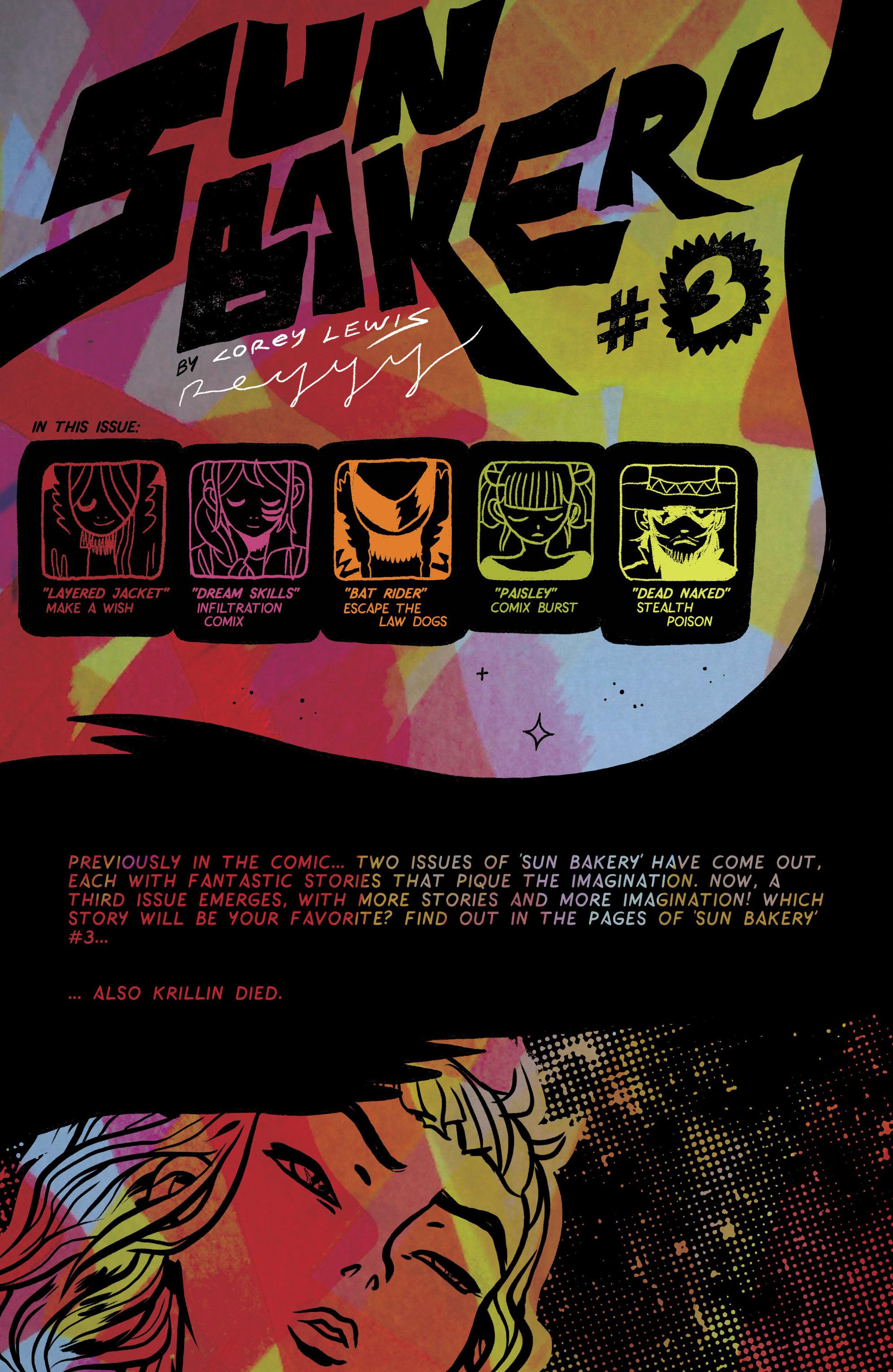 Read online Sun Bakery comic -  Issue #3 - 2