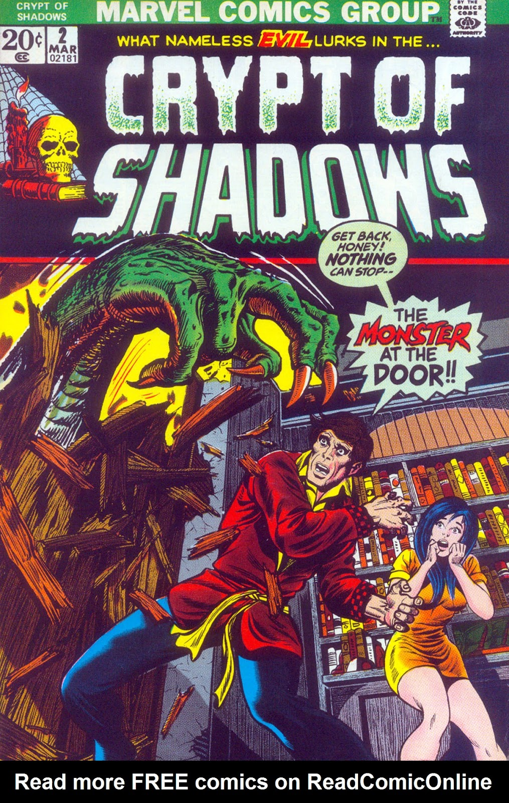 Crypt of Shadows (1973) issue 2 - Page 1