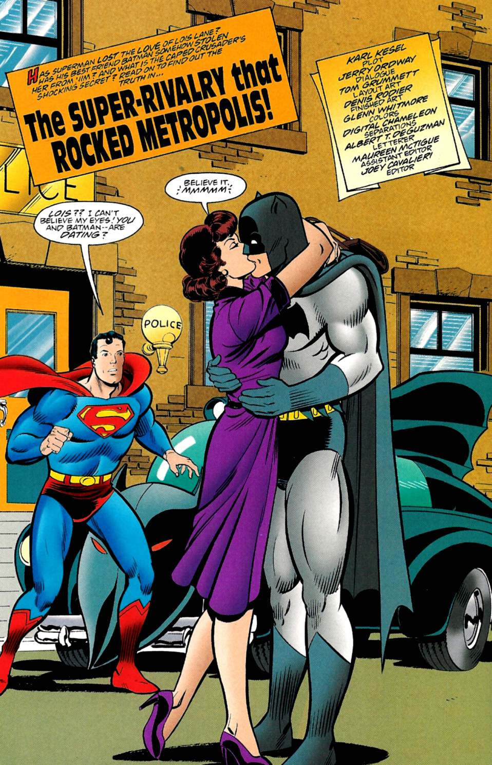Read online Adventures of Superman (1987) comic -  Issue #560 - 3