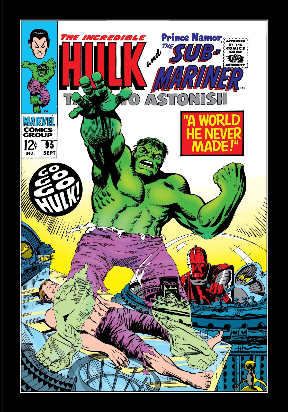 Read online Marvel Masterworks: The Incredible Hulk comic -  Issue # TPB 3 (Part 2) - 72