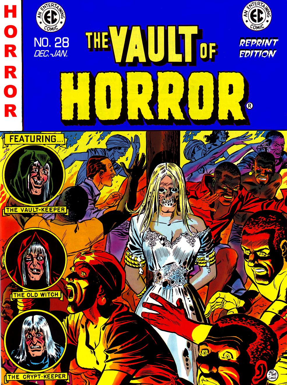 The Vault of Horror (1950) issue 28 - Page 1