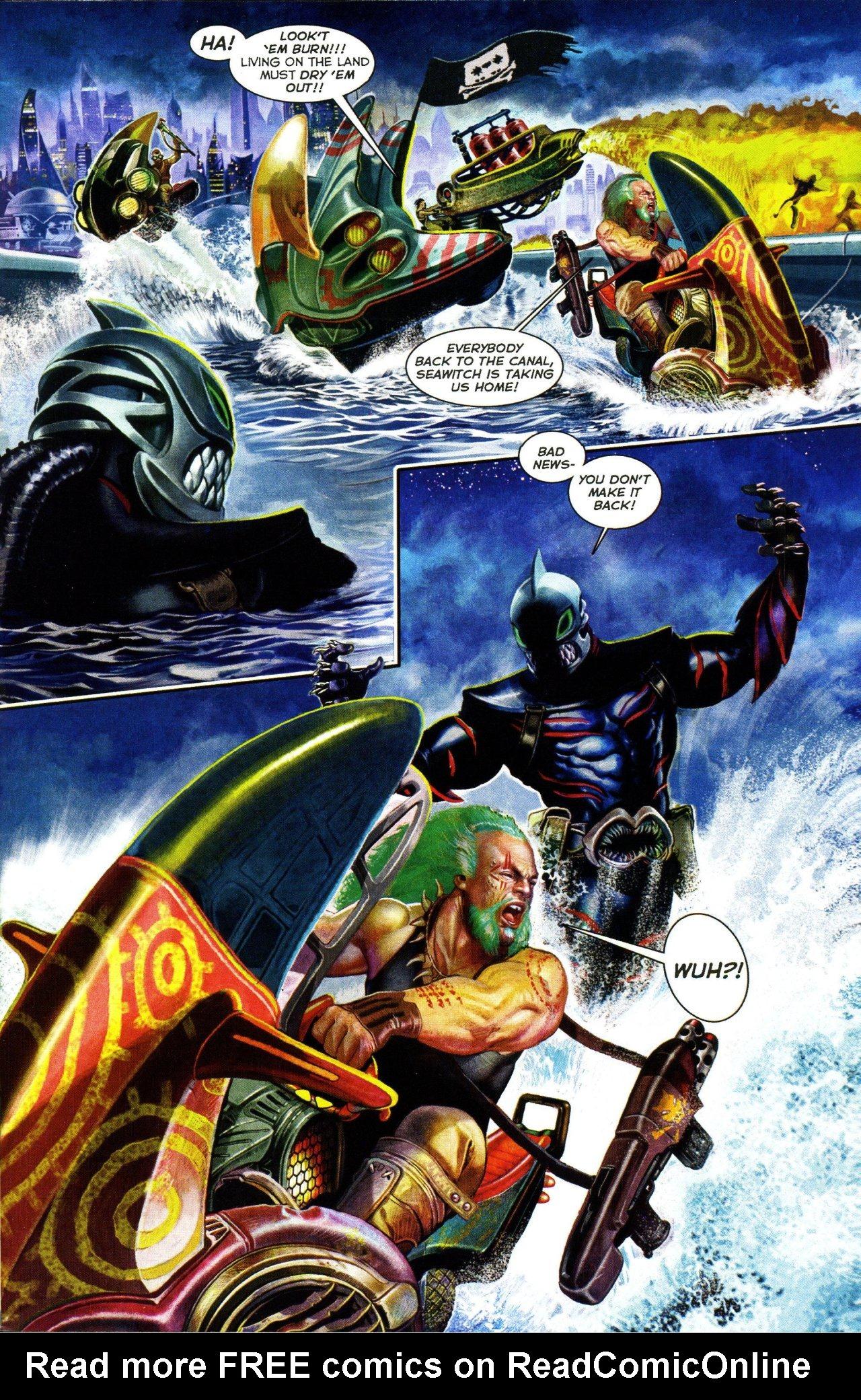 Read online Shark-Man comic -  Issue #3 - 7