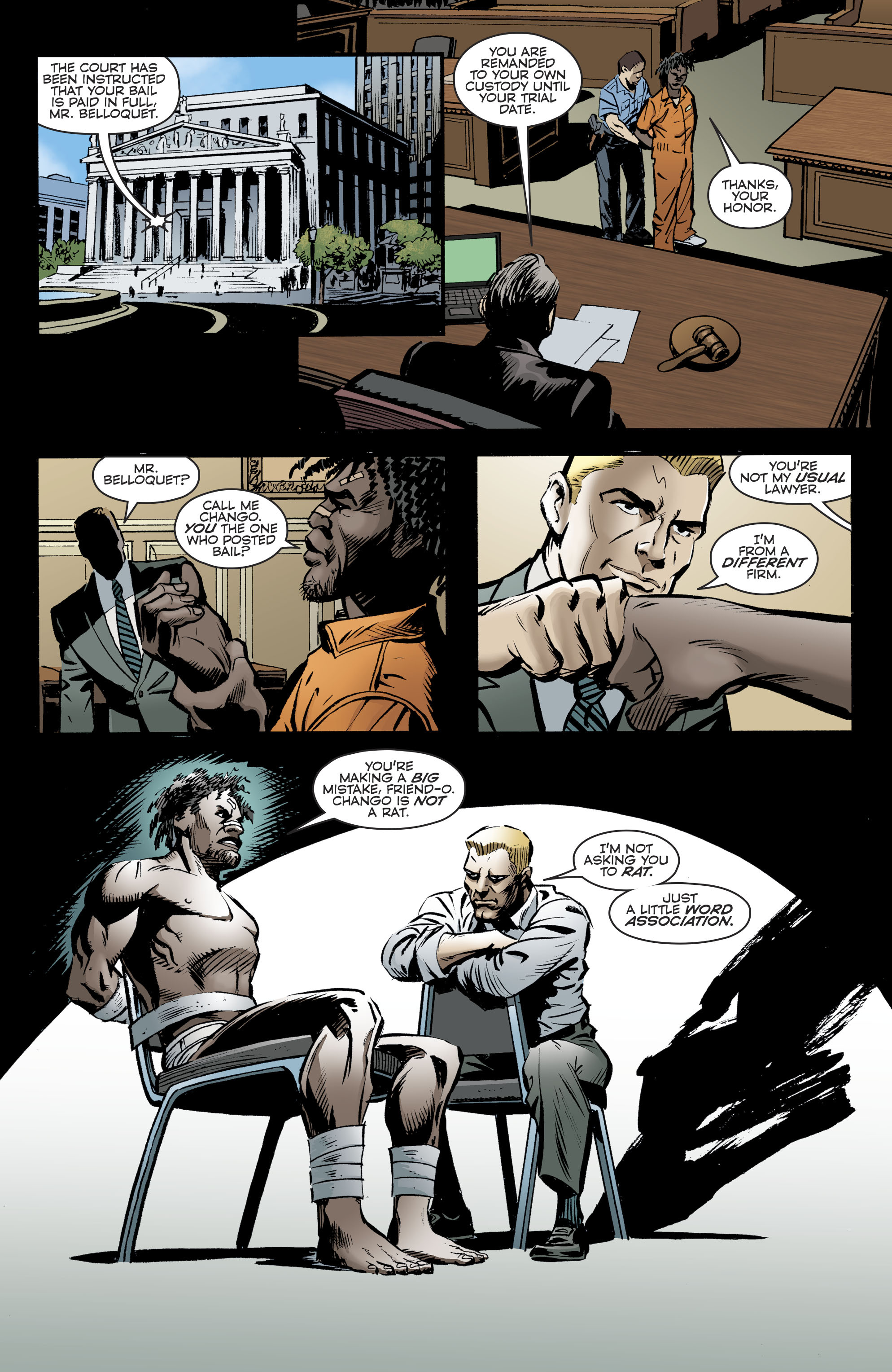 Read online Bane: Conquest comic -  Issue #1 - 17