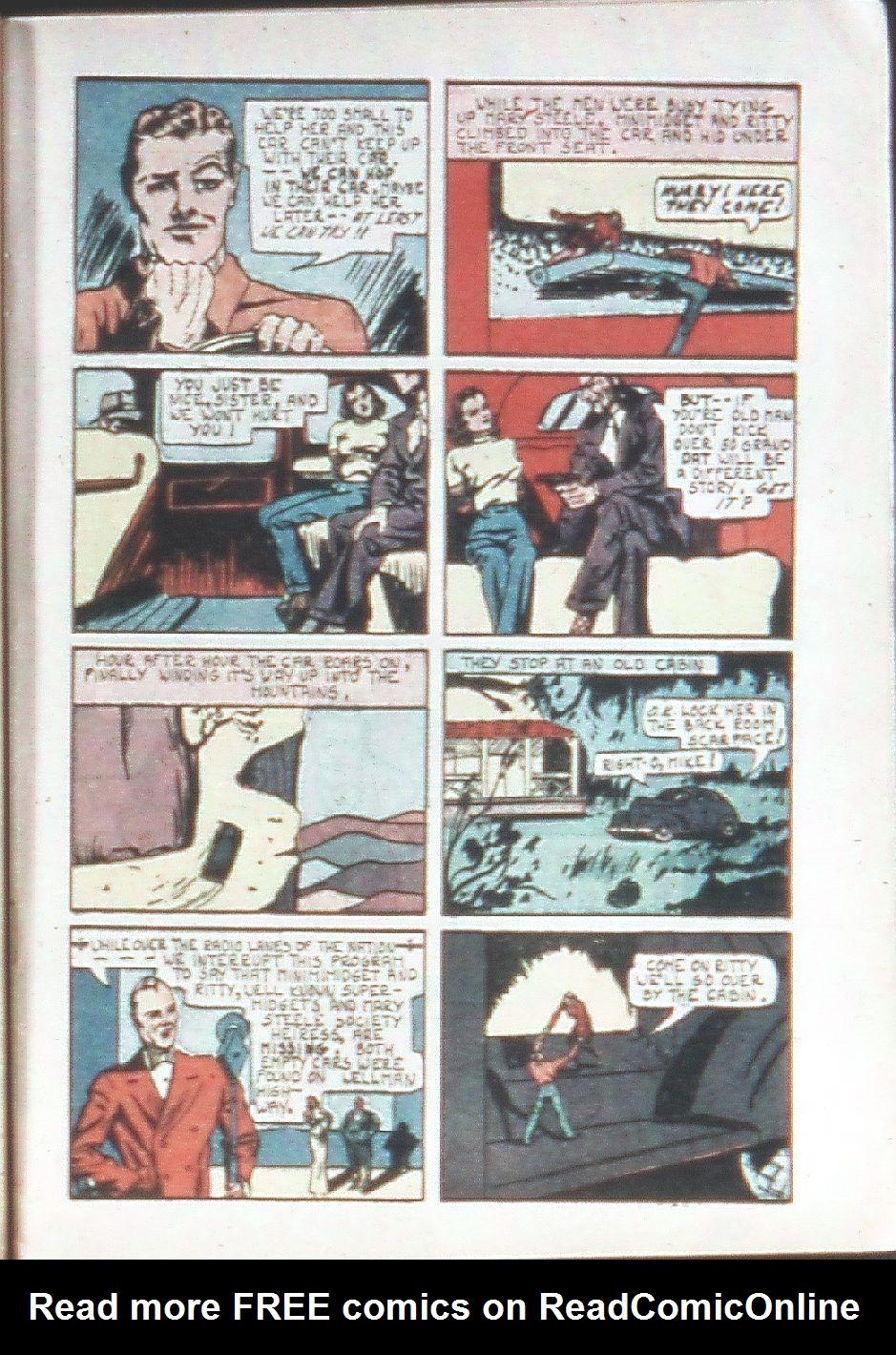 Read online Amazing Man Comics comic -  Issue #18 - 17