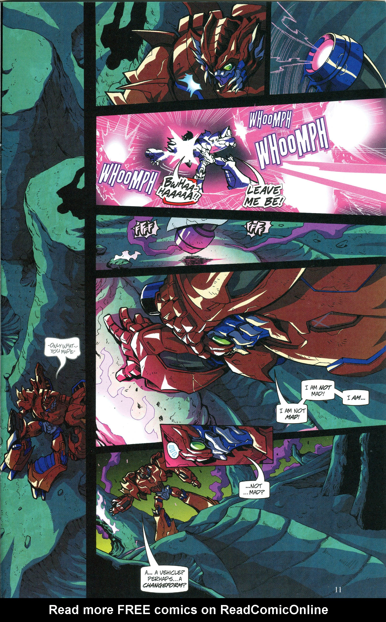 Read online Transformers: Collectors' Club comic -  Issue #56 - 11