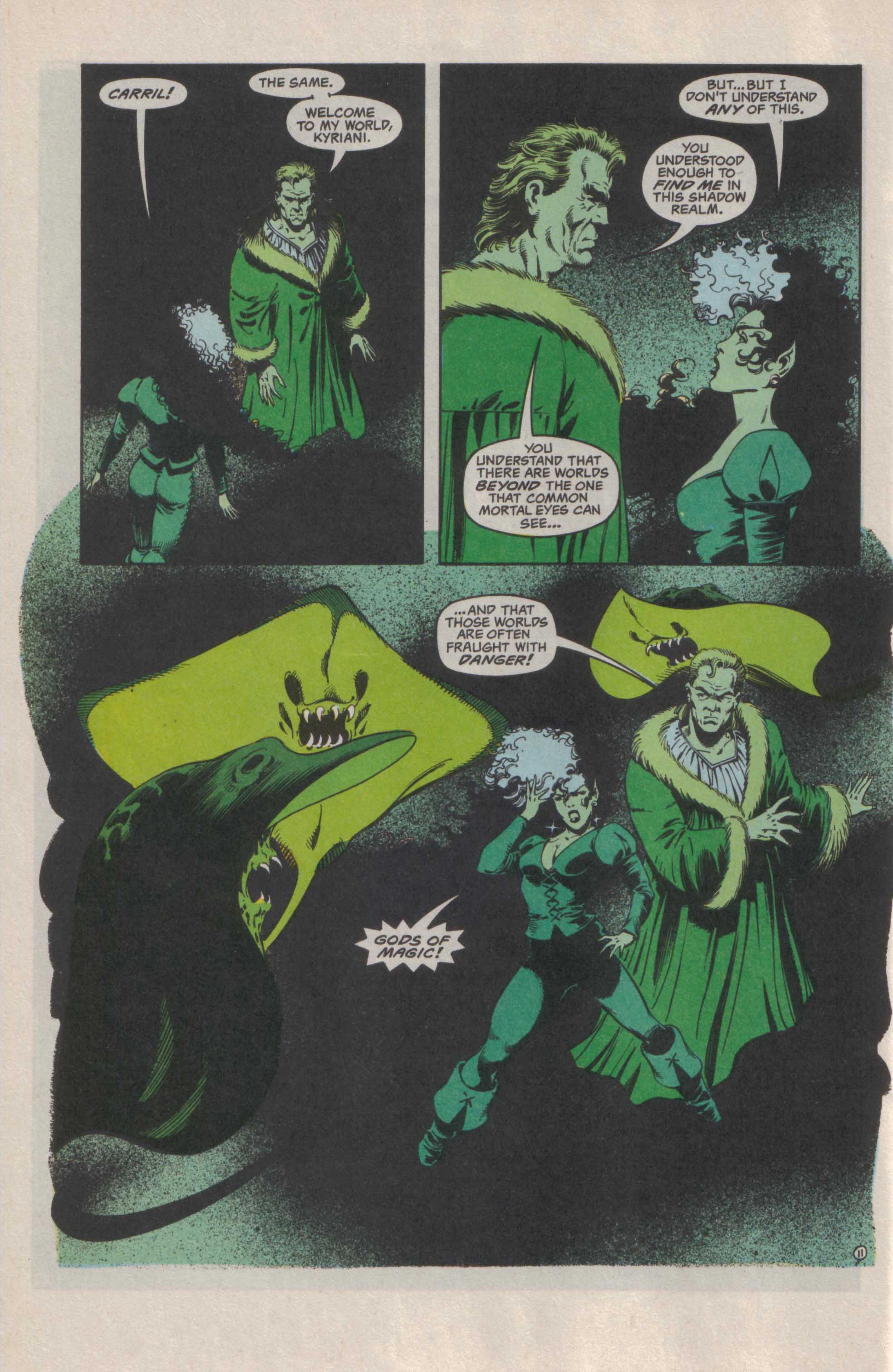 Read online Advanced Dungeons & Dragons comic -  Issue #29 - 12