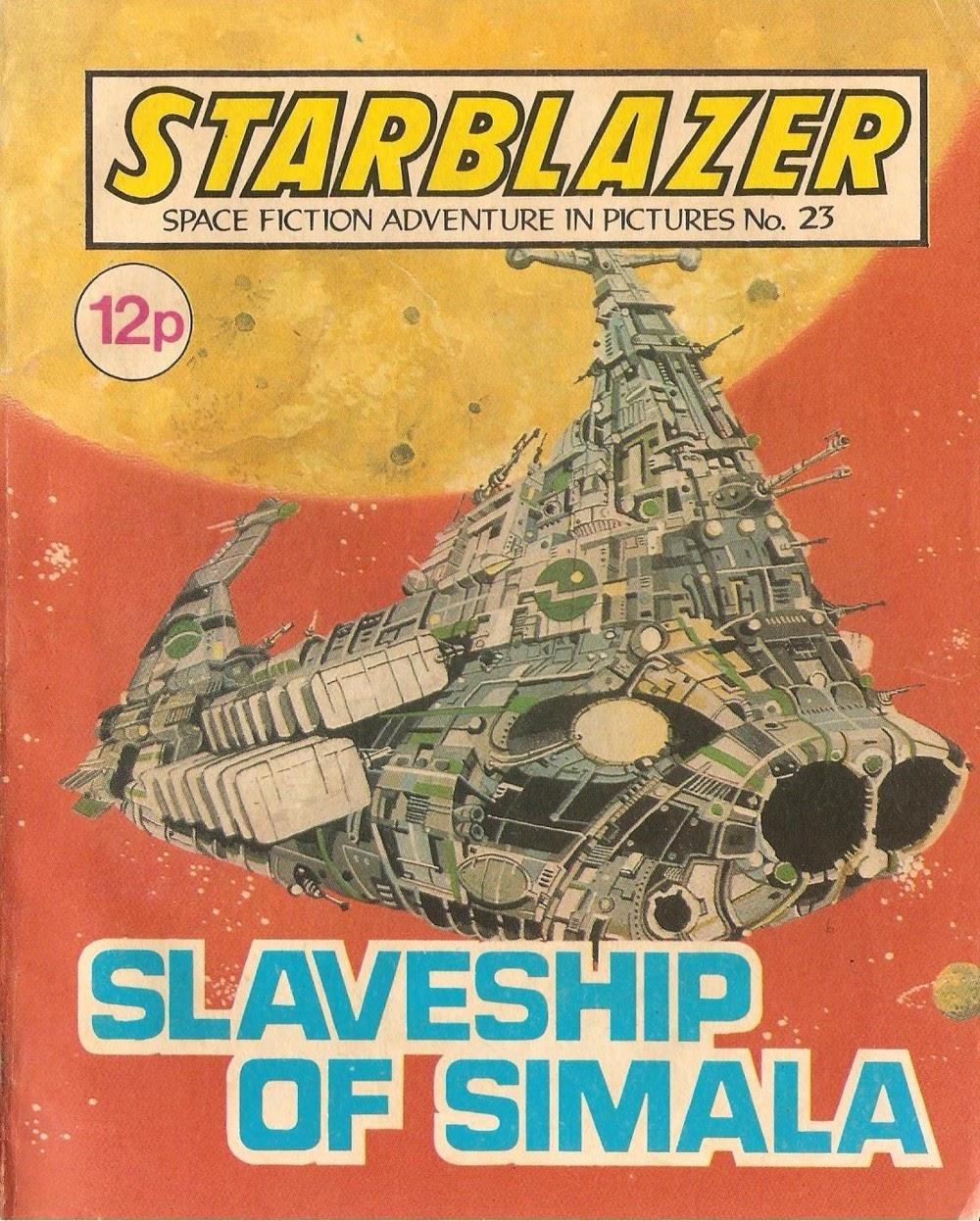 Starblazer issue 23 - Page 1