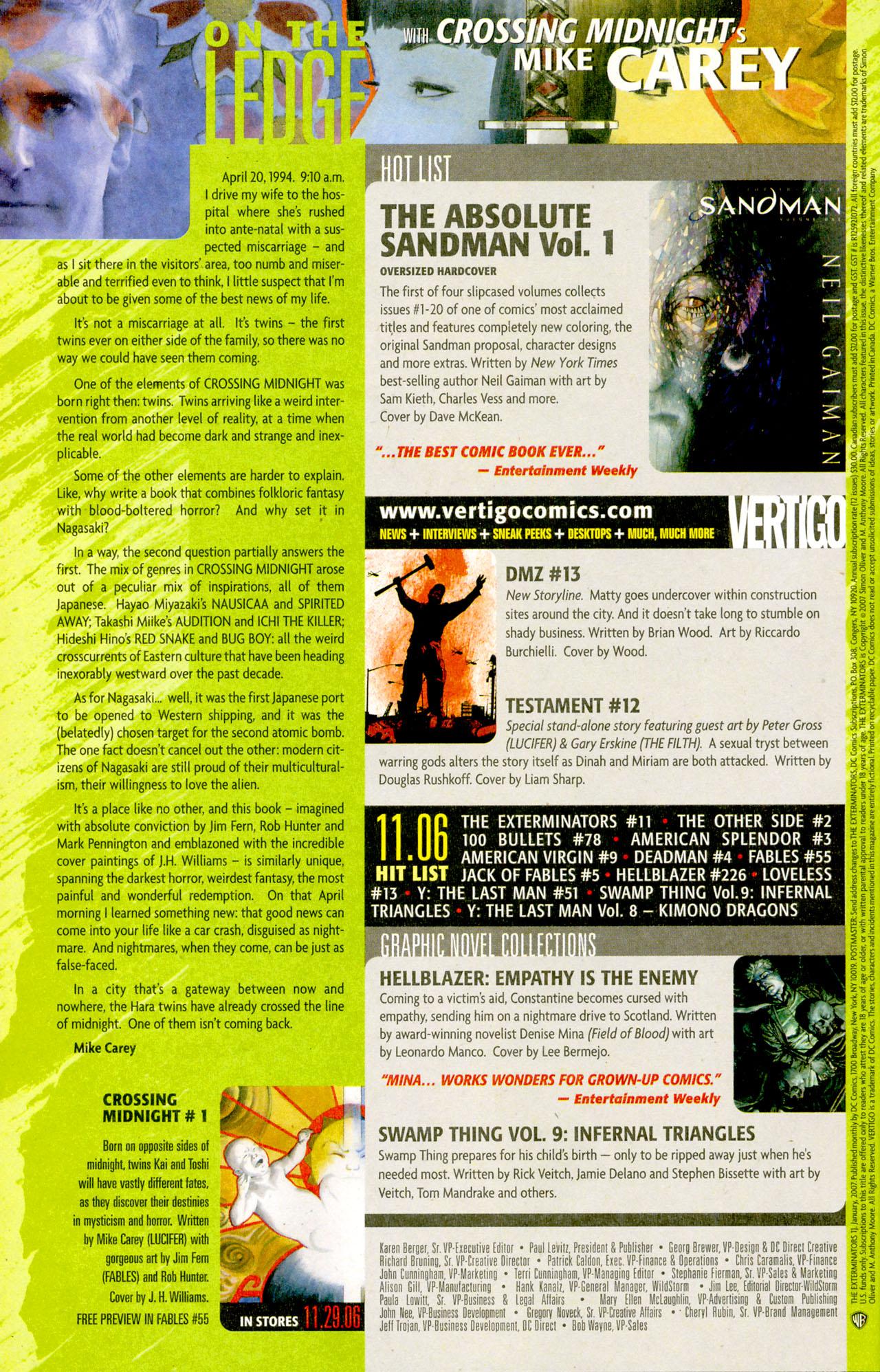 Read online The Exterminators comic -  Issue #11 - 23