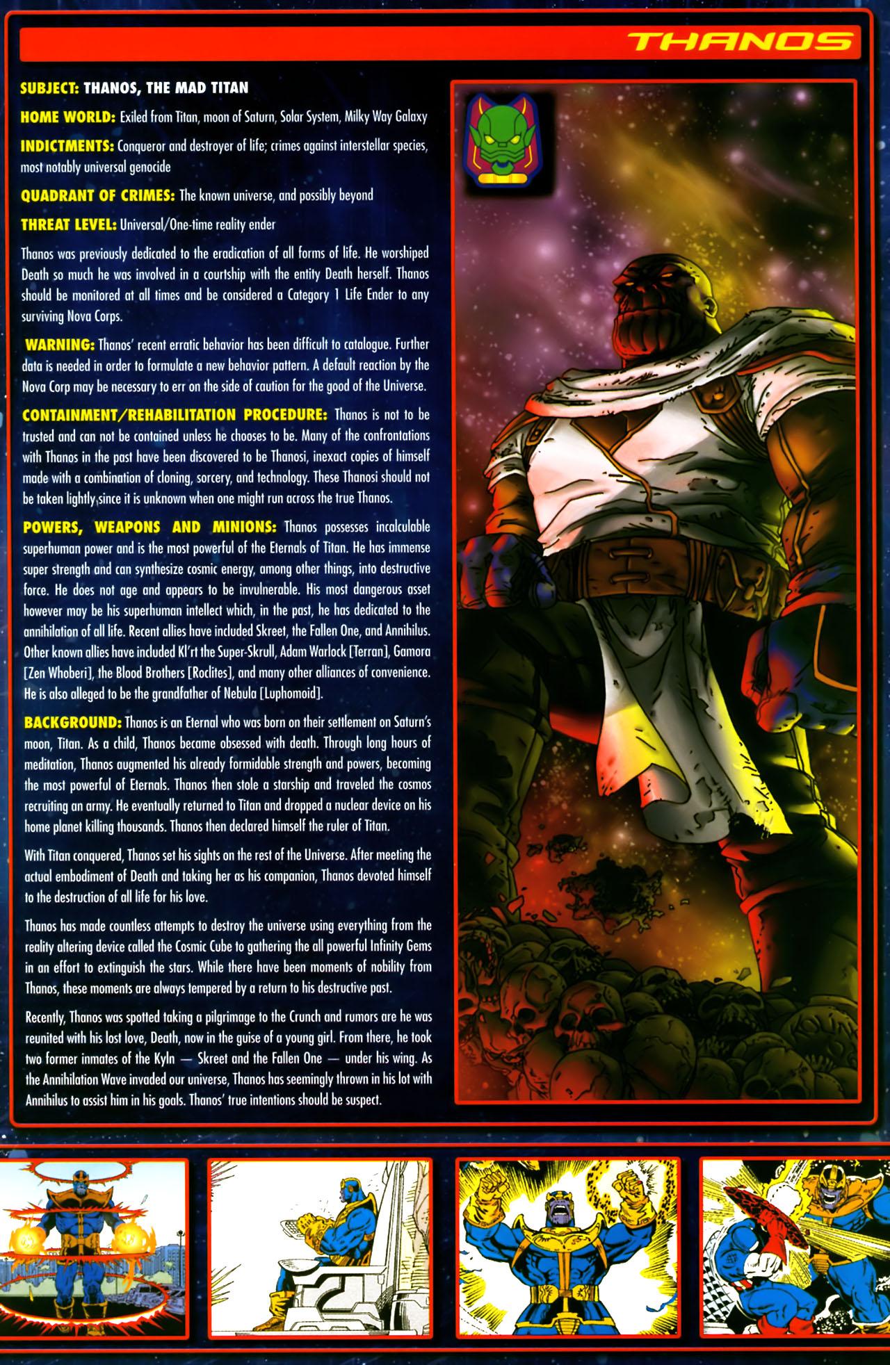 Read online Annihilation:  The  Nova Corps Files comic -  Issue #Annihilation:  The  Nova Corps Files Full - 44