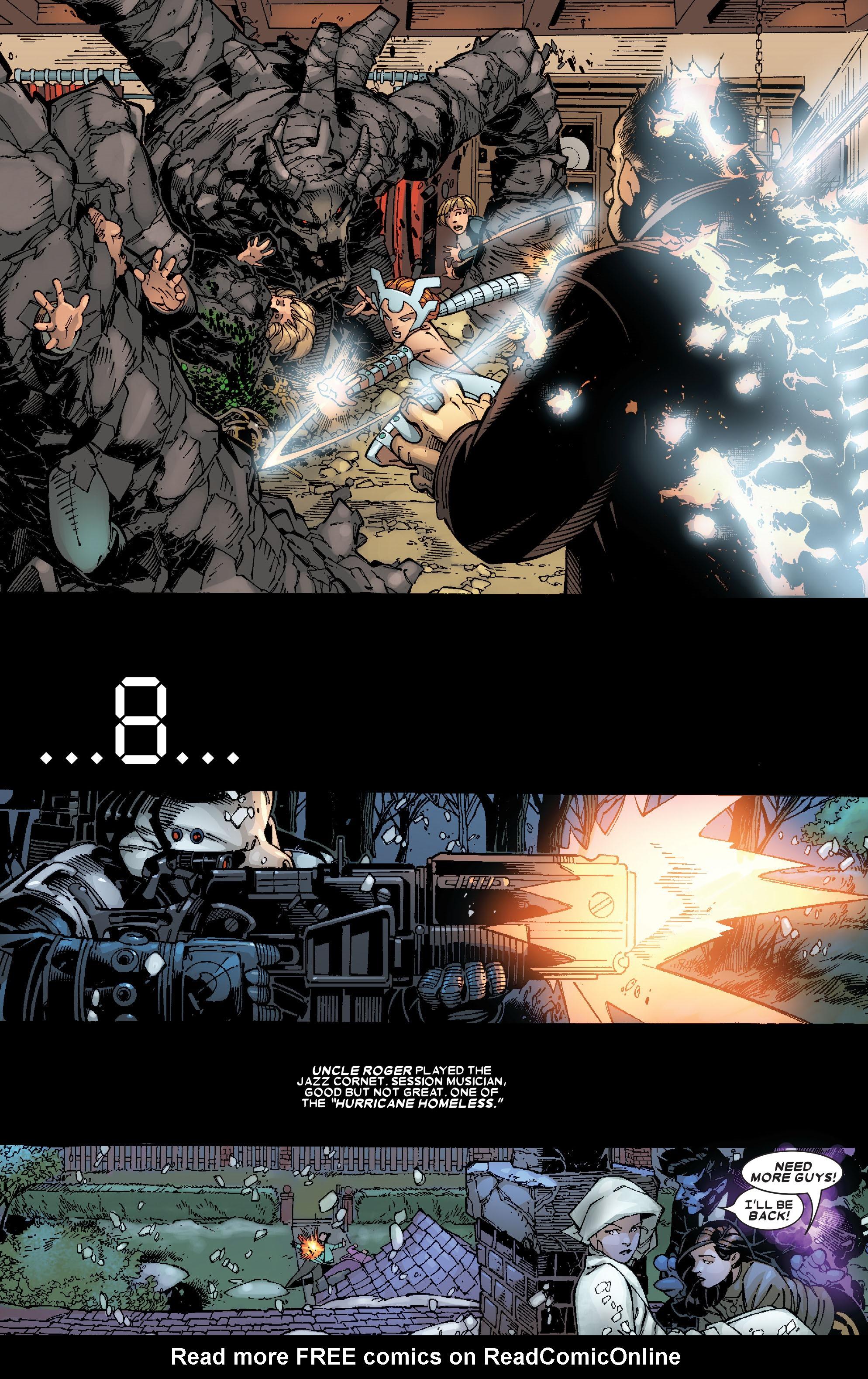 Read online Uncanny X-Men (1963) comic -  Issue #467 - 8