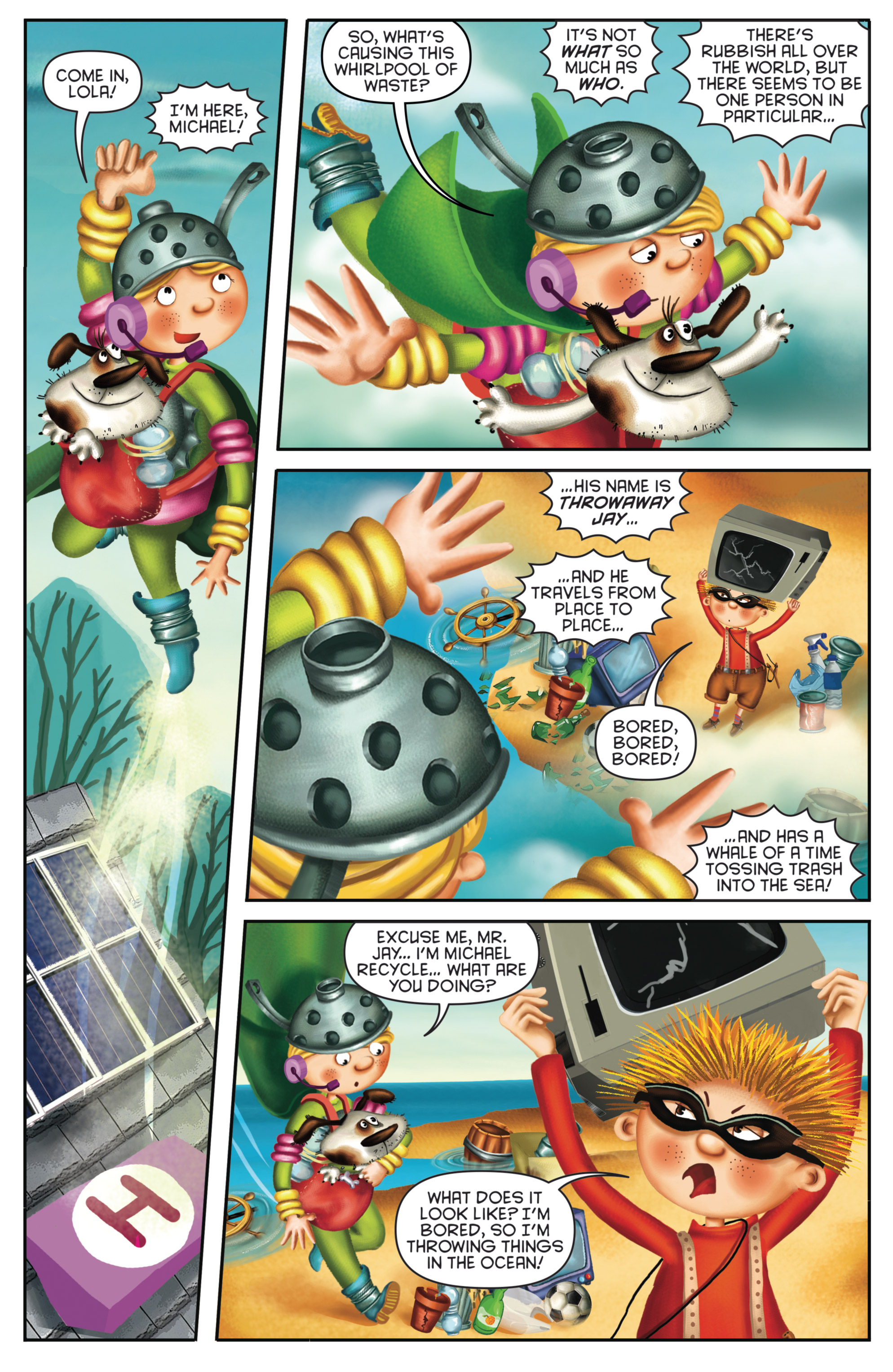 Read online Michael Recycle comic -  Issue #4 - 8