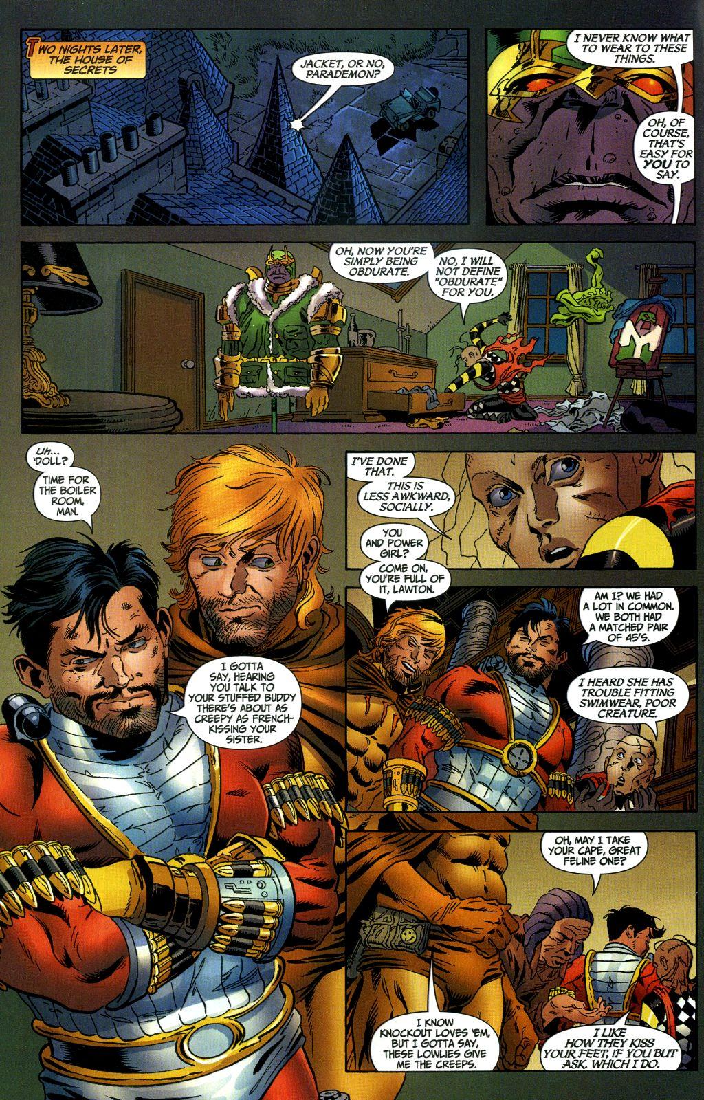 Read online Secret Six (2006) comic -  Issue #1 - 14