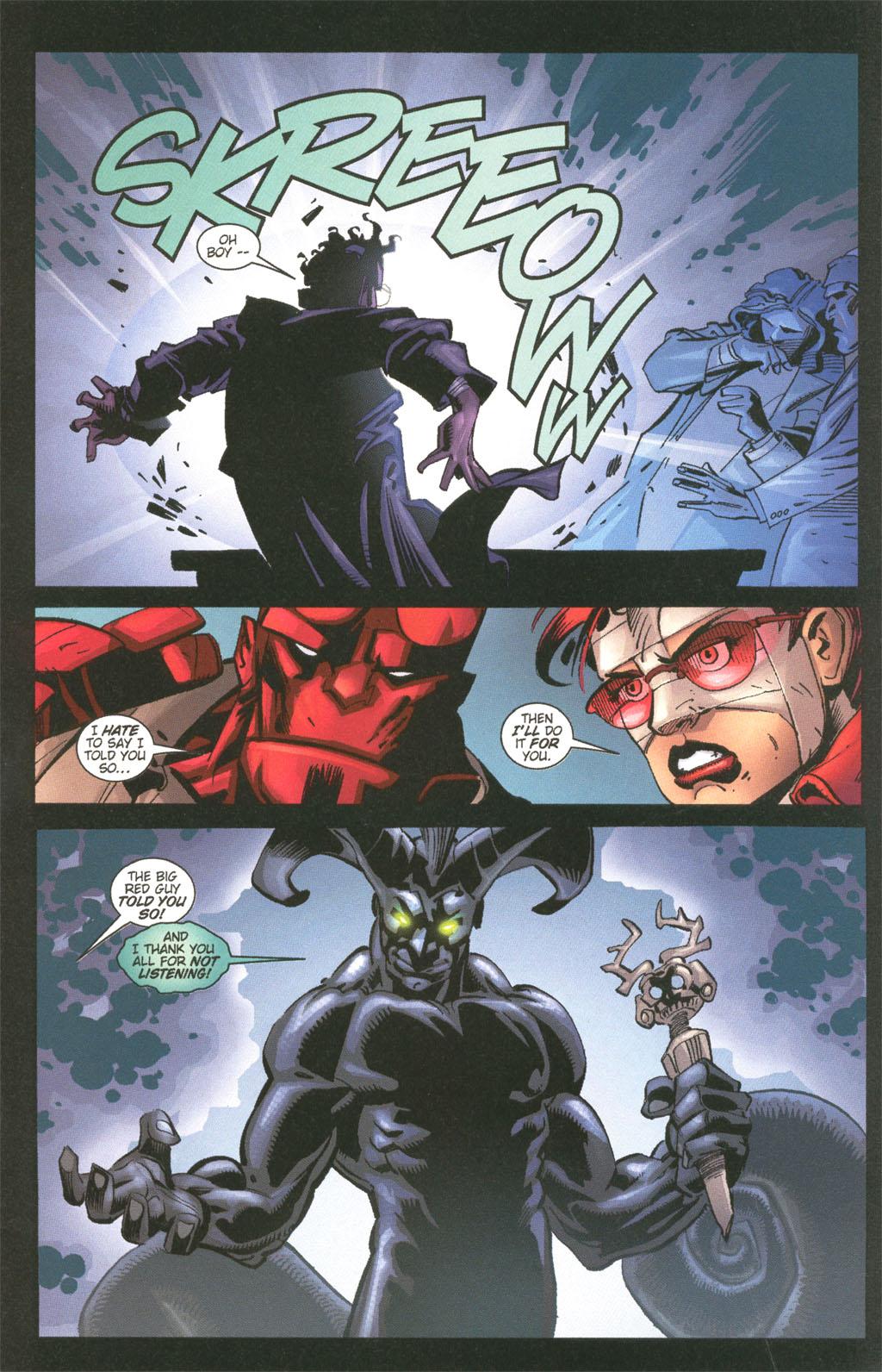 Read online Painkiller Jane/Hellboy comic -  Issue # Full - 9